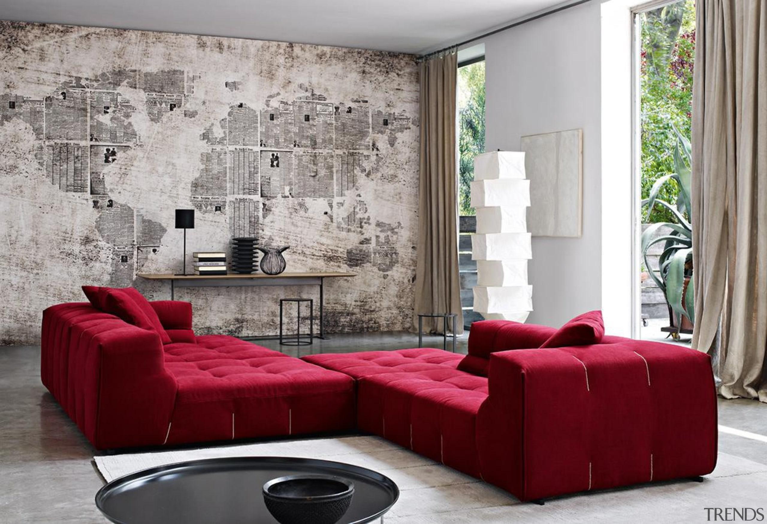bebitaliaurquiolatuftytoosofaredinstu1200.jpg - bebitaliaurquiolatuftytoosofaredinstu1200.jpg - angle | chaise longue angle, chaise longue, couch, furniture, interior design, living room, loveseat, room, sofa bed, table, wall, gray