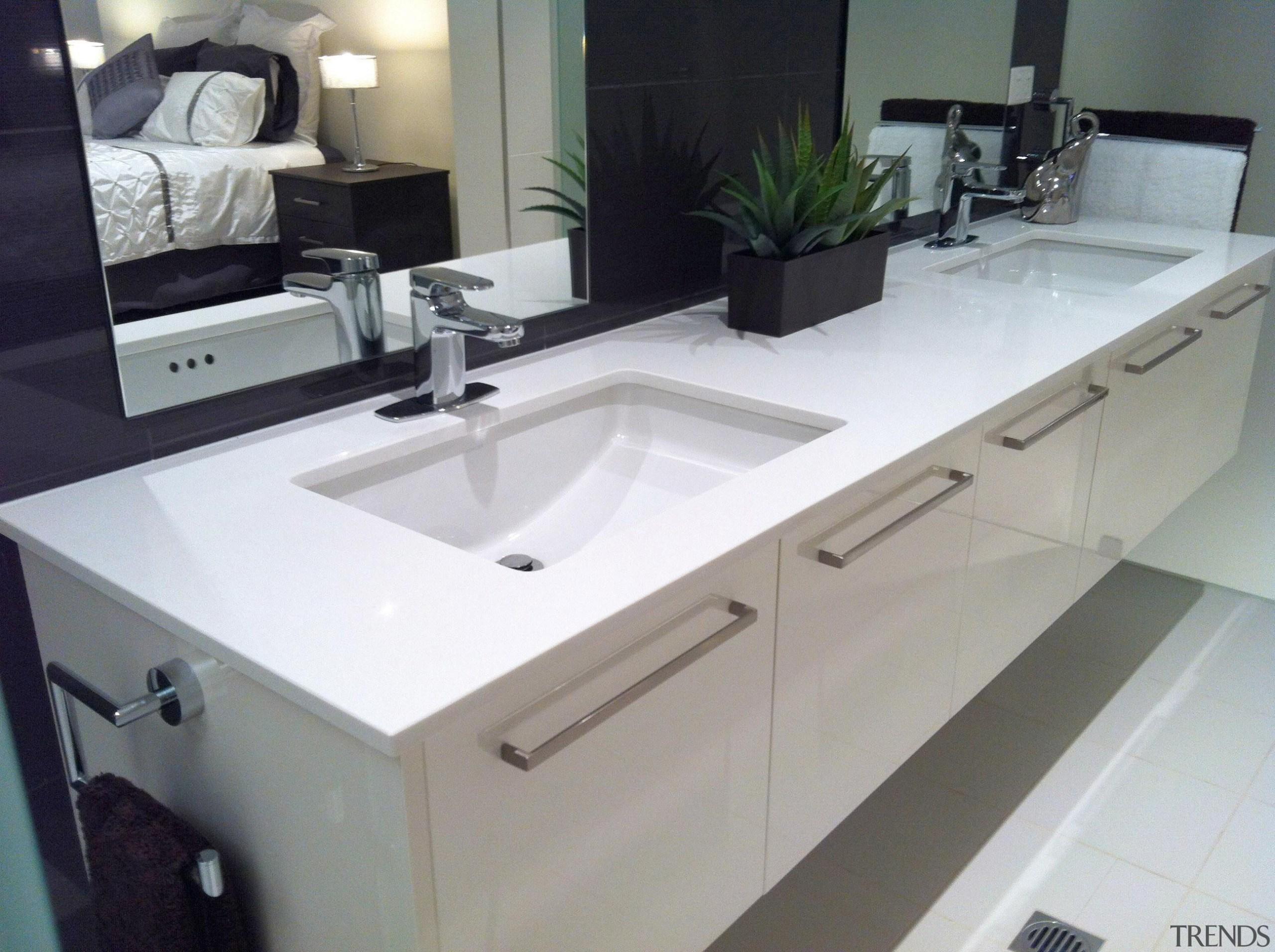Winner Bathroom Design of the Year Northern Territory bathroom, bathroom accessory, bathroom sink, countertop, kitchen, plumbing fixture, product design, sink, gray