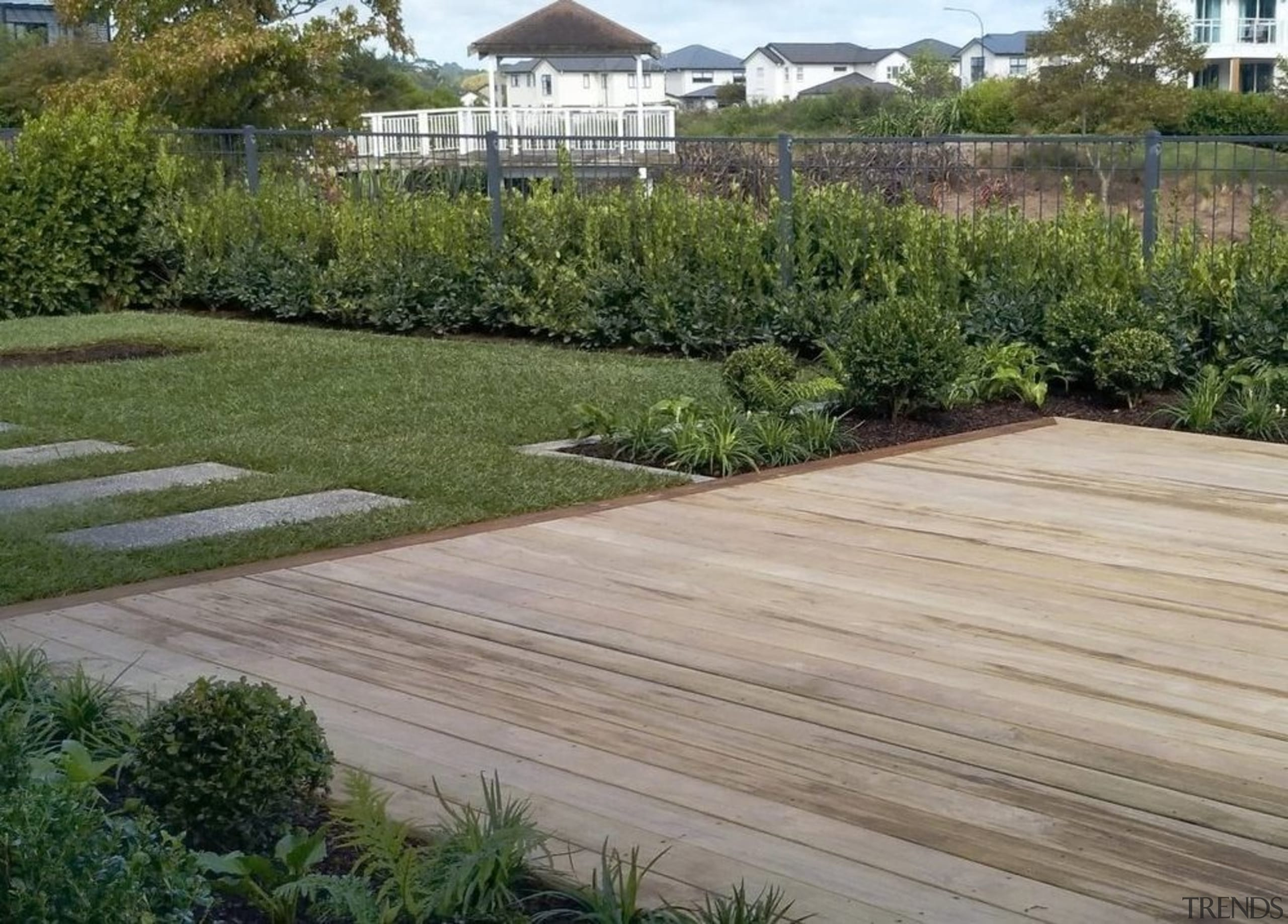Experienced landscapers will draw on both practical and gray, brown