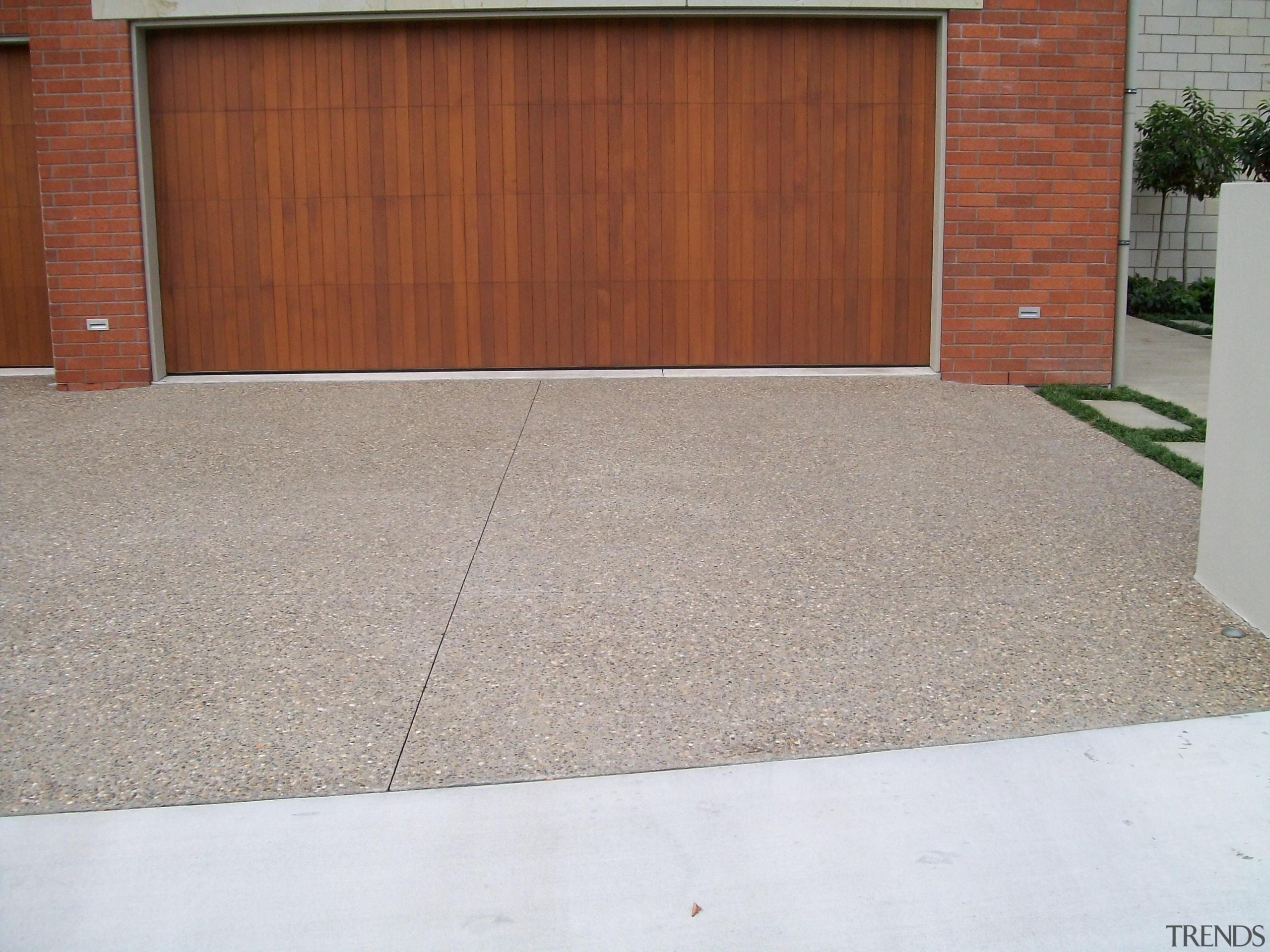 Colourmix 22 - Colourmix_22 - asphalt   concrete asphalt, concrete, door, driveway, floor, flooring, garage, garage door, property, real estate, road surface, wood stain, gray, brown