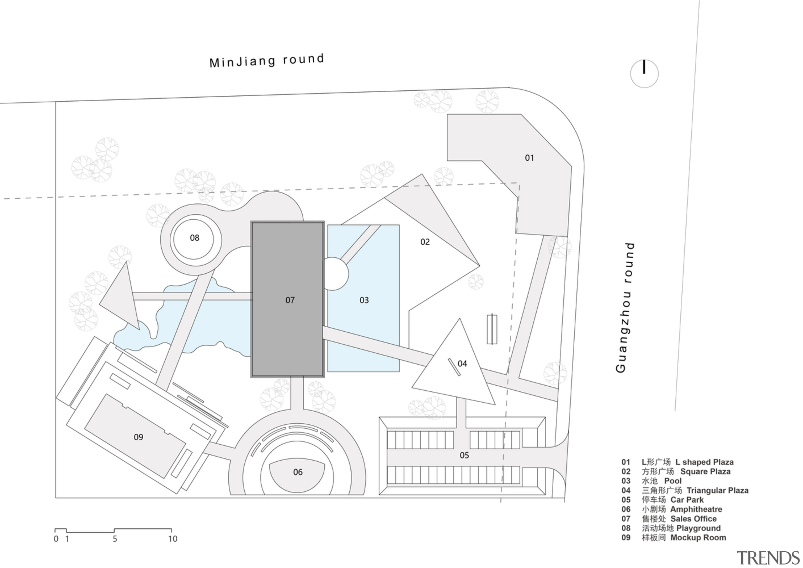 Master Layout Plan 总图 - design   diagram design, diagram, drawing, font, line, plan, technical drawing, text, white