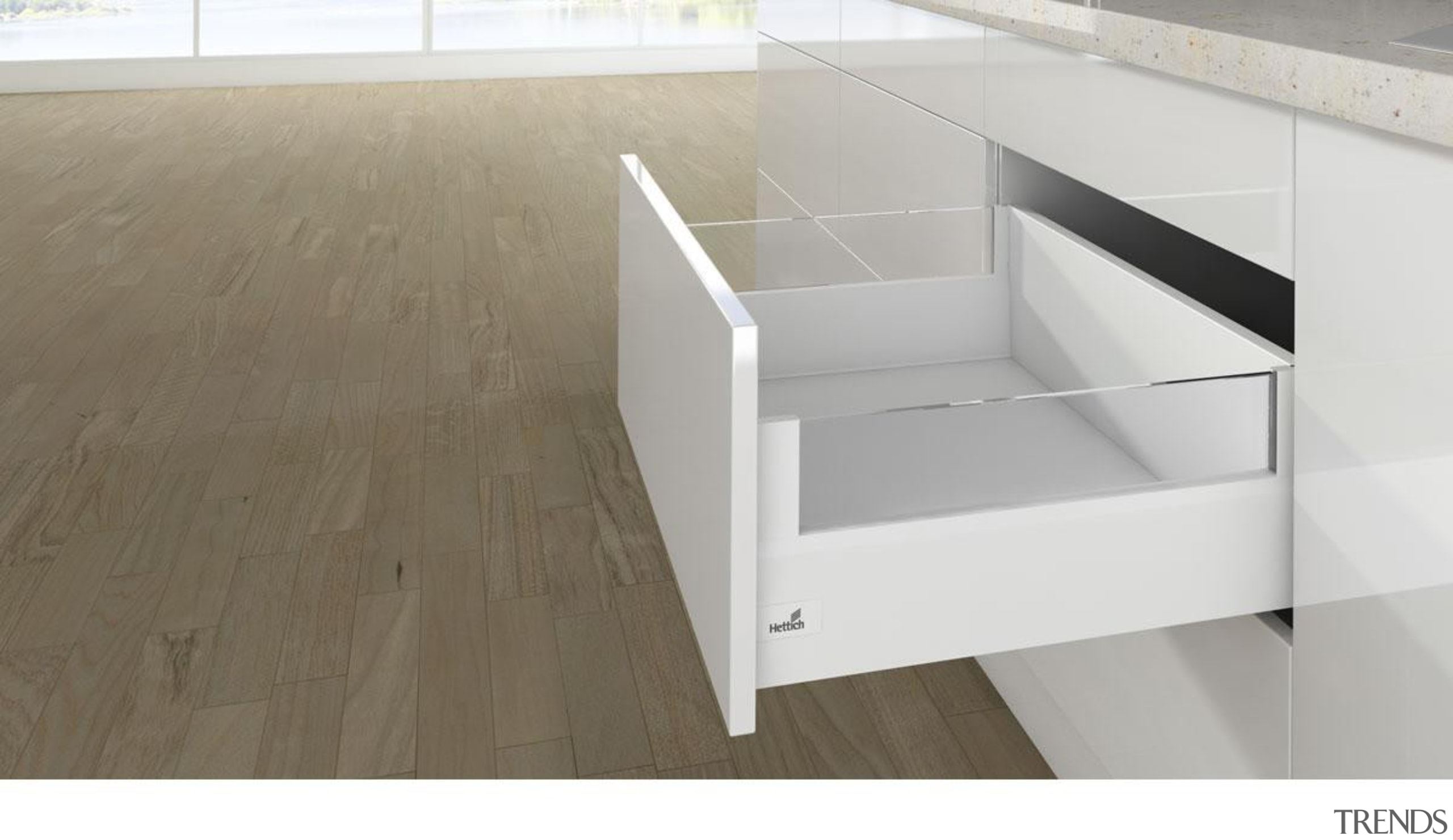 Designside - Clear Glass - Designside - Clear angle, drawer, floor, furniture, plywood, product, product design, table, white