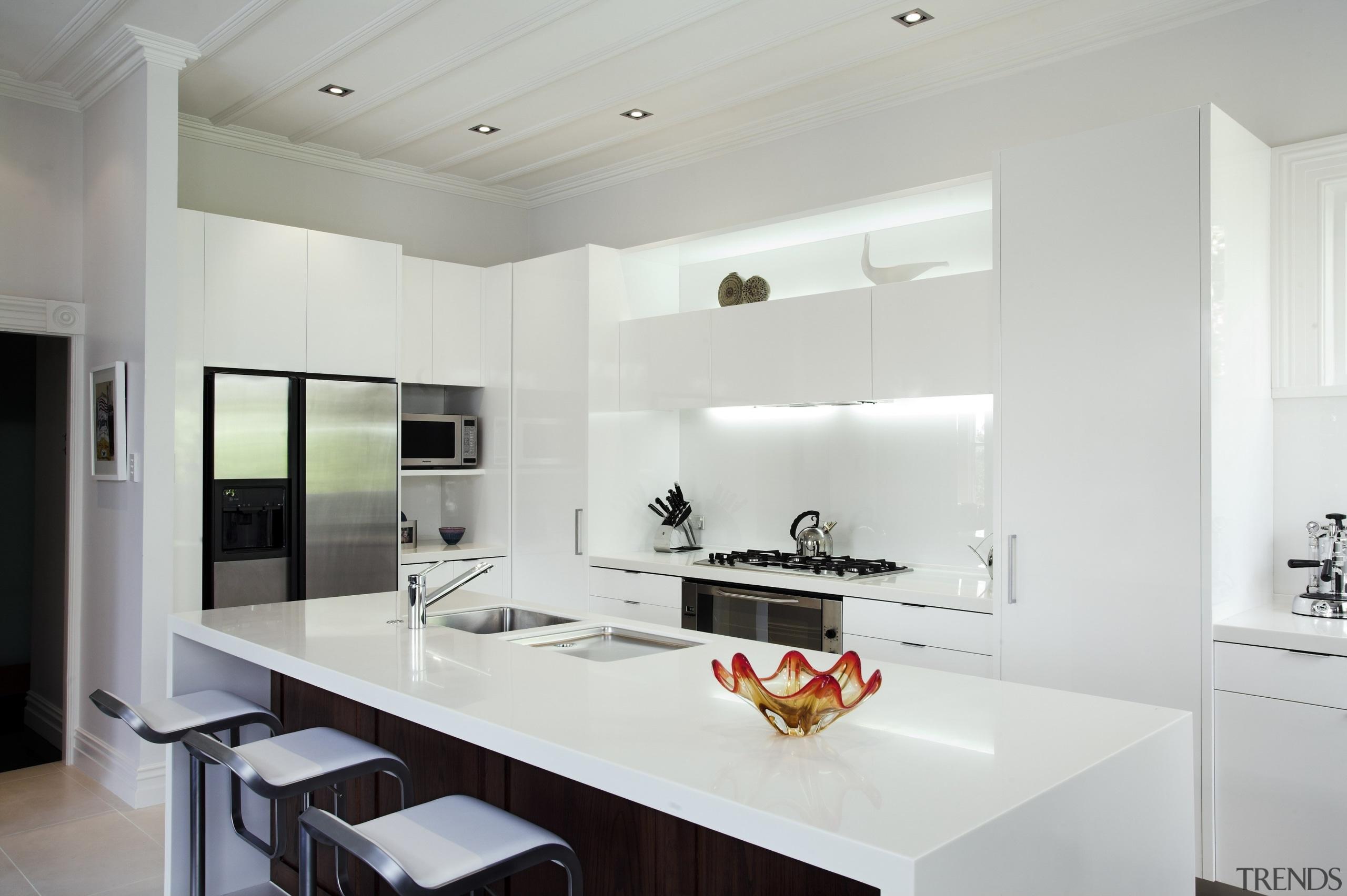 Ponsonby - countertop | cuisine classique | interior countertop, cuisine classique, interior design, kitchen, real estate, gray, white