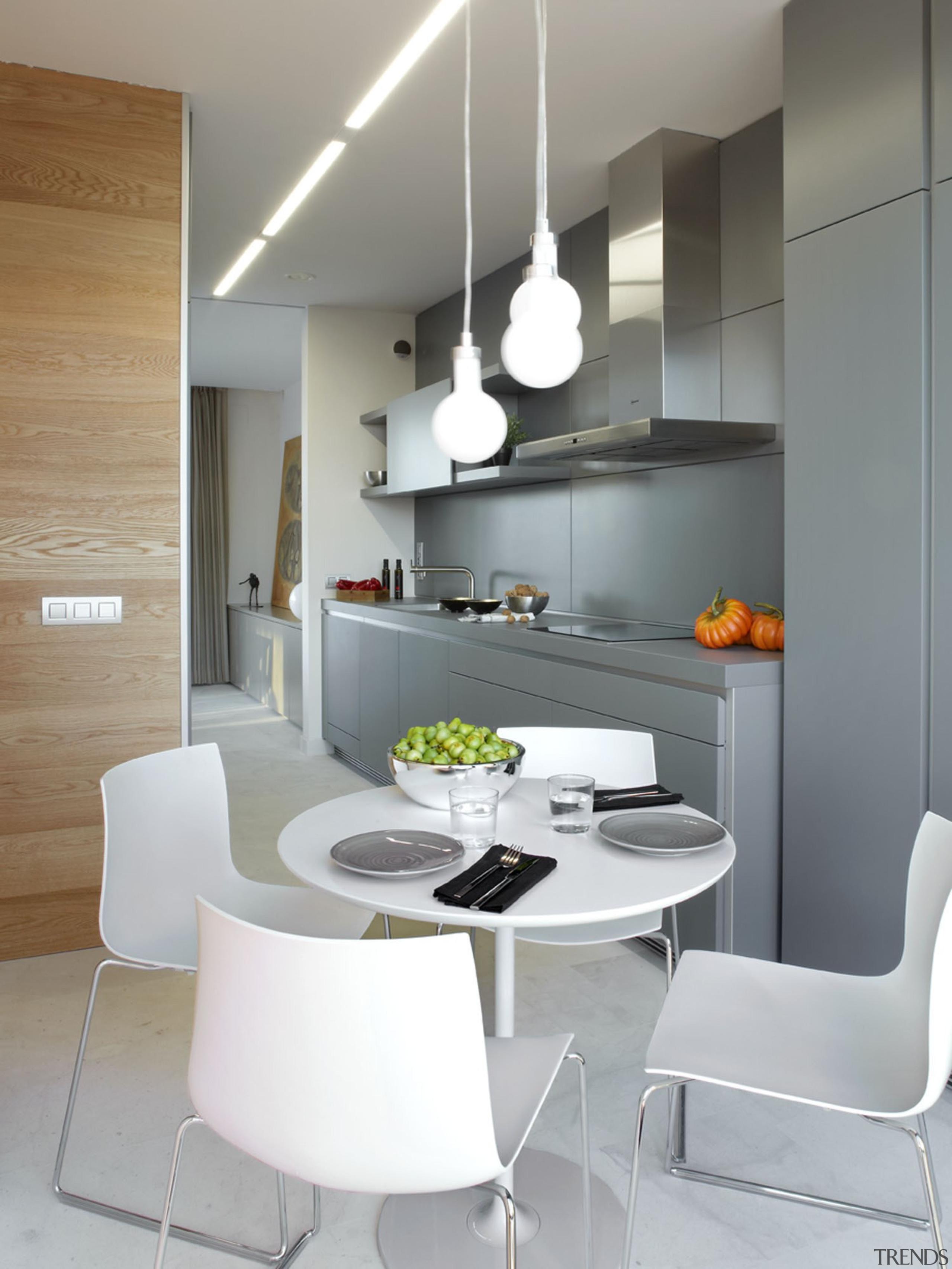 Encimera Kensho - Encimera Kensho - countertop | countertop, dining room, furniture, interior design, interior designer, kitchen, light fixture, product design, table, gray