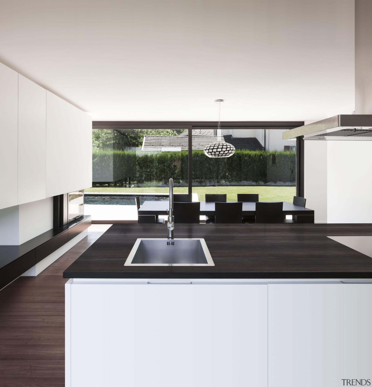 Dekton Borea Mutfak Tezgah 1 - Dekton Borea countertop, interior design, kitchen, white