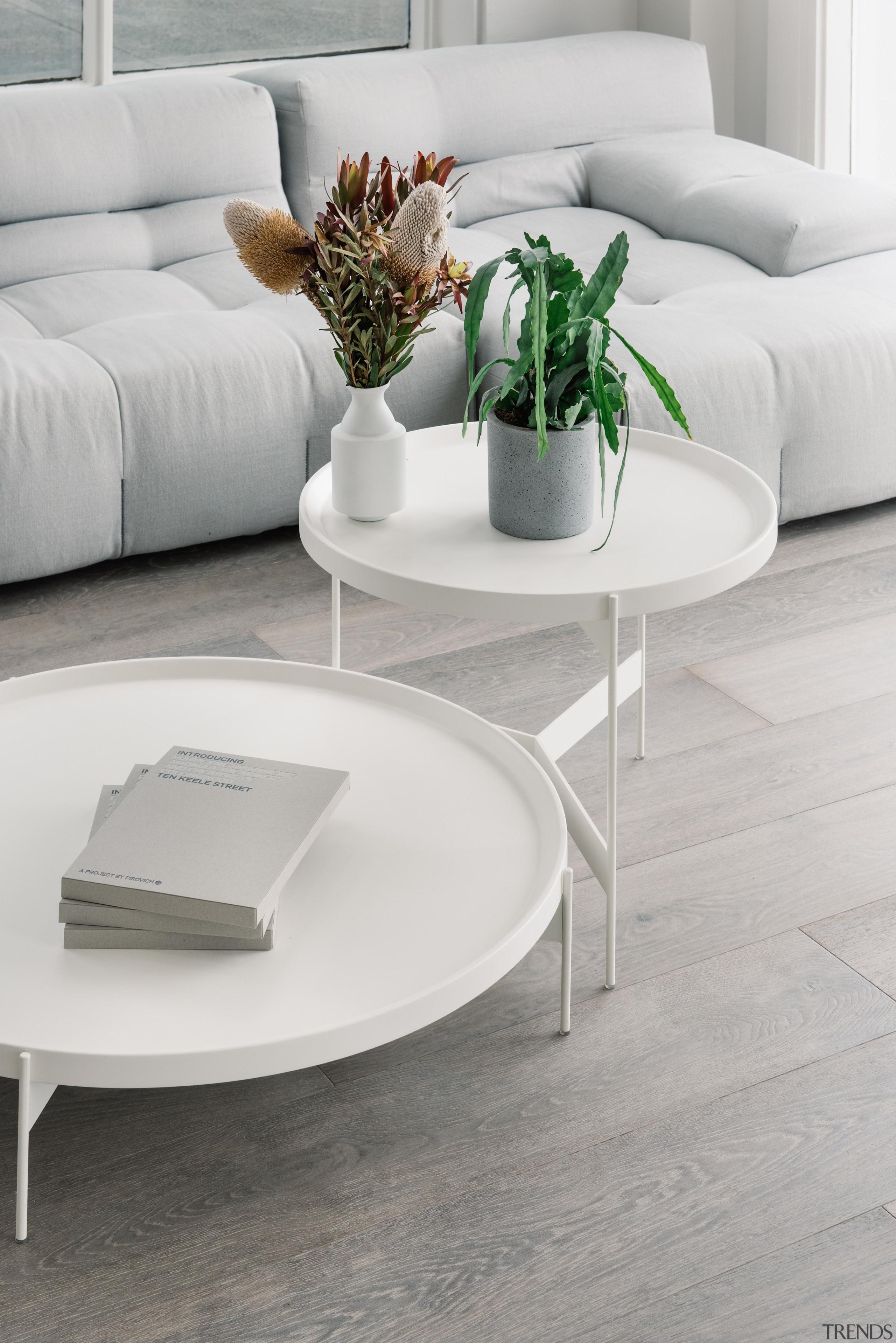 French Oak floor Driftwood has a pale grey angle, coffee table, floor, flooring, furniture, hardwood, interior design, laminate flooring, living room, product design, table, wood flooring, gray