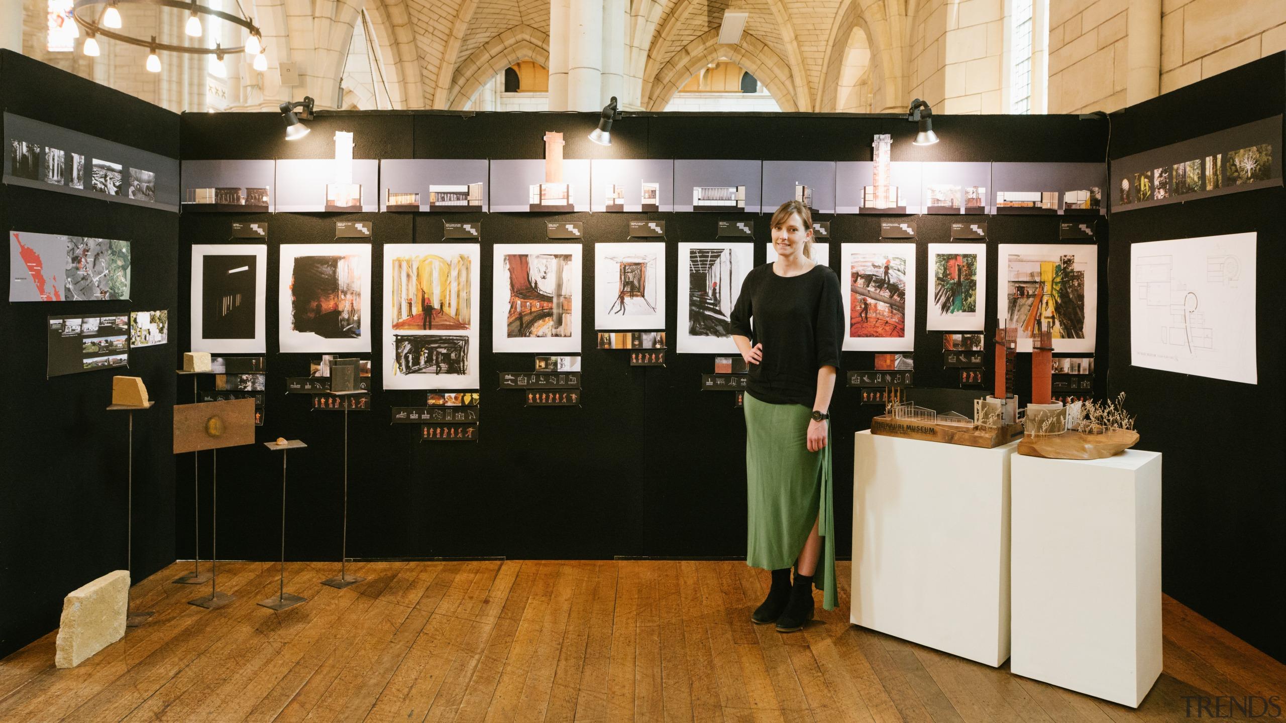 Sianne Smith – Unitec – finalist - 2018 art exhibition, exhibition, black