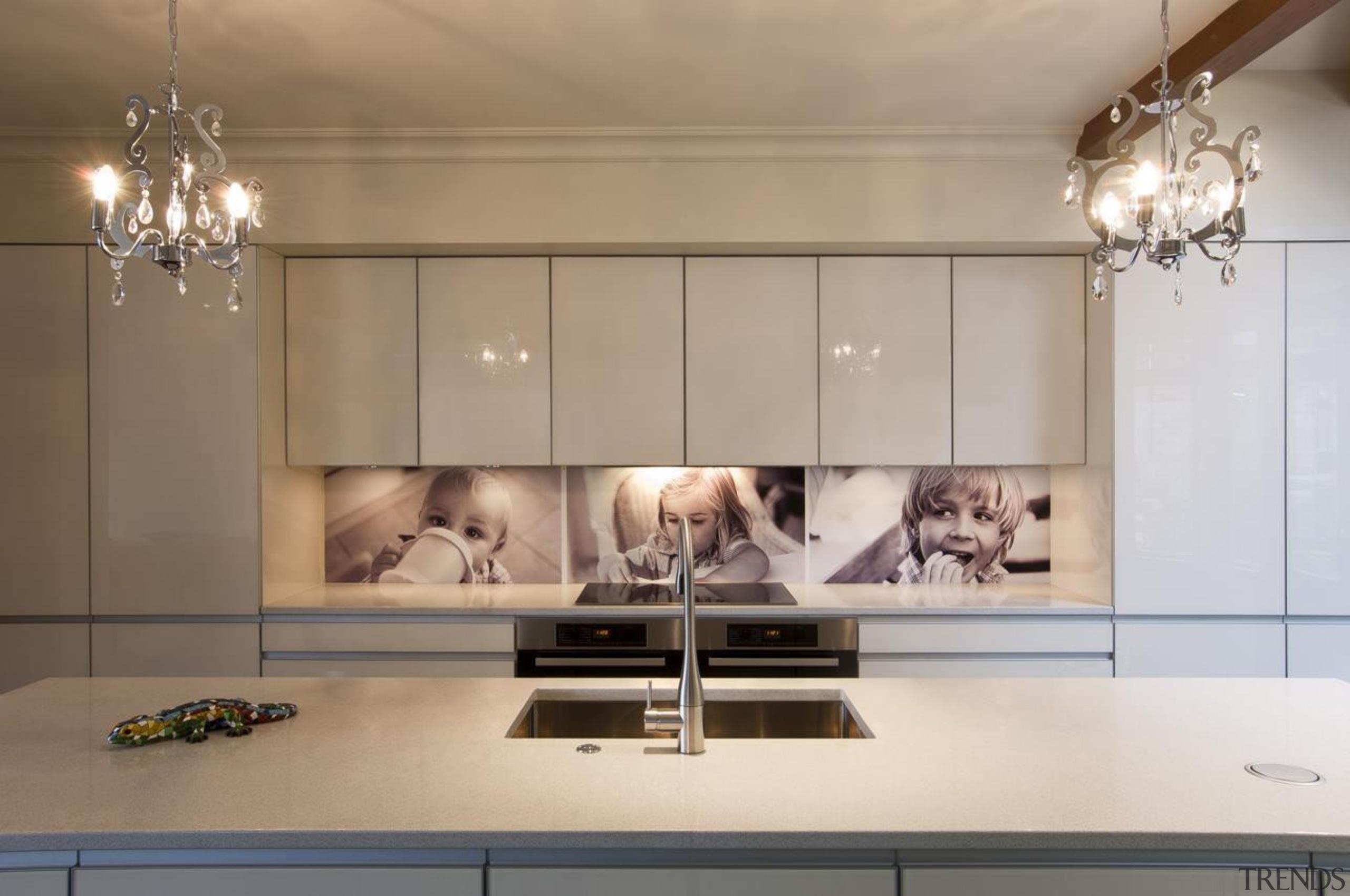 Hataitai Kitchen - Hataitai Kitchen - countertop   countertop, floor, flooring, home, interior design, kitchen, living room, room, gray, brown