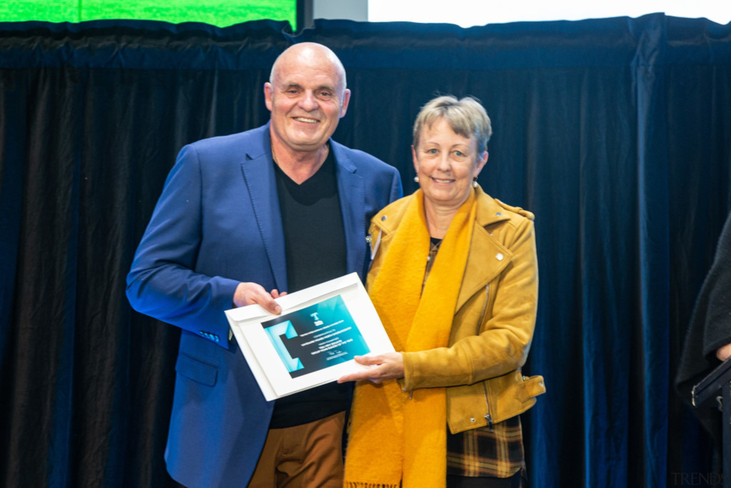 2019 TIDA New Zealand Homes presentation evening award, award ceremony, employment, event, job, blue