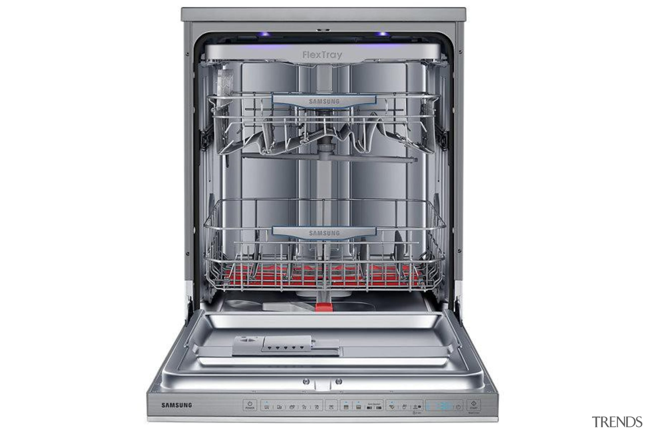 Dishwashers DW60H9970FSRevolutionise dish duty with WaterWall™ Technology. Only dishwasher, home appliance, kitchen appliance, major appliance, product, white, gray