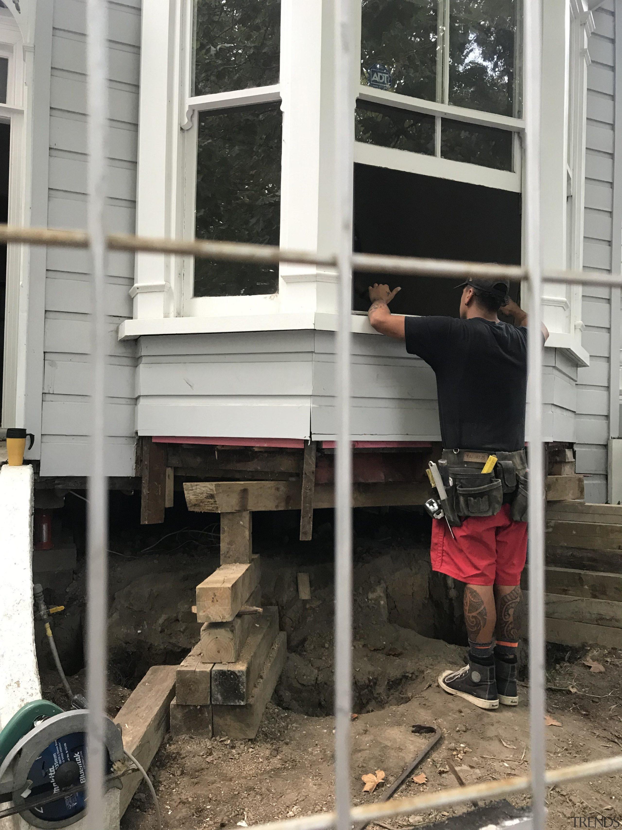 Diary of a renovation: Volume two - house house, window, black, white