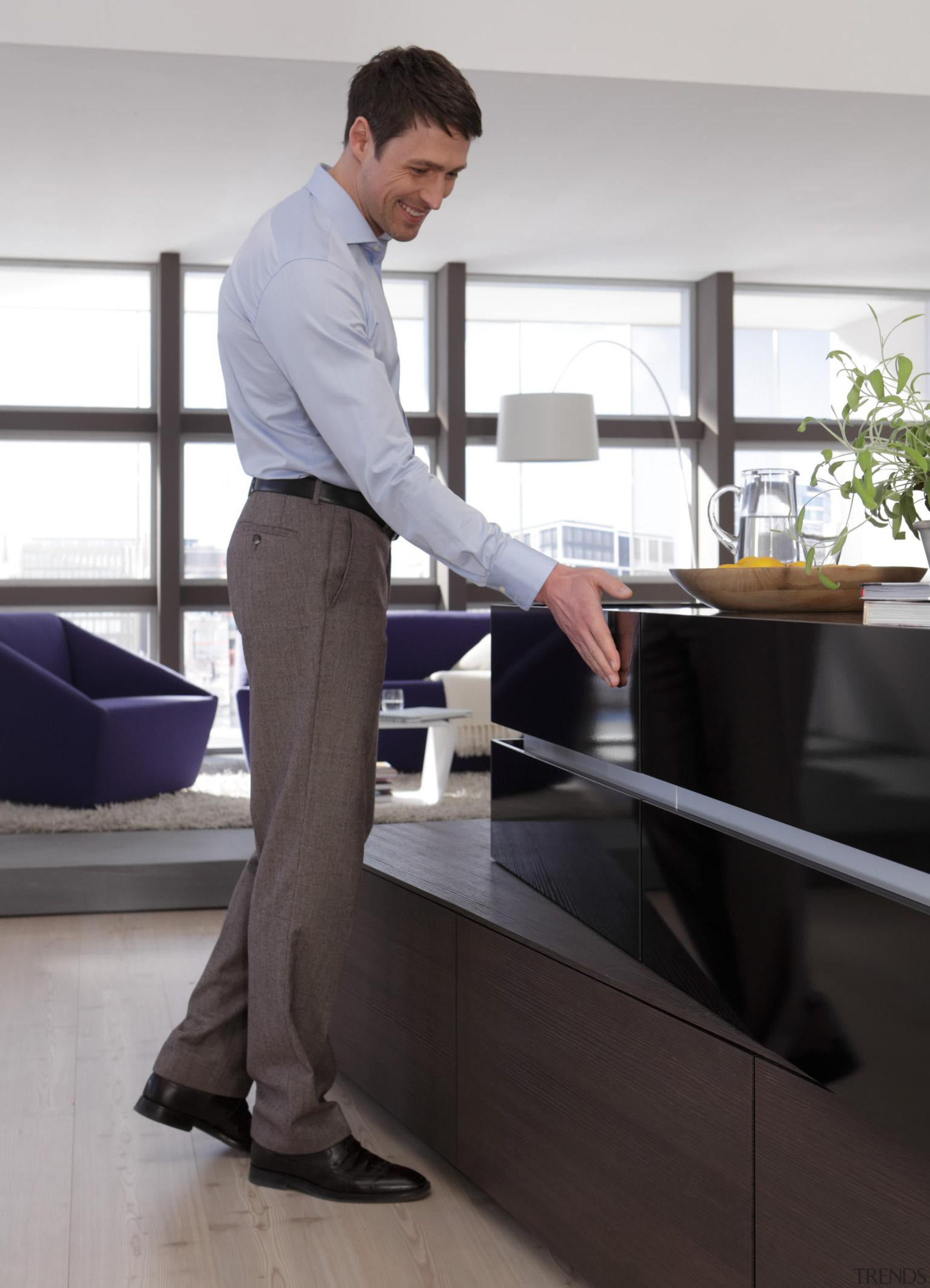 ArciTech is compatible with the Easys or Push desk, furniture, product, product design, professional, standing, suit, table, white, black