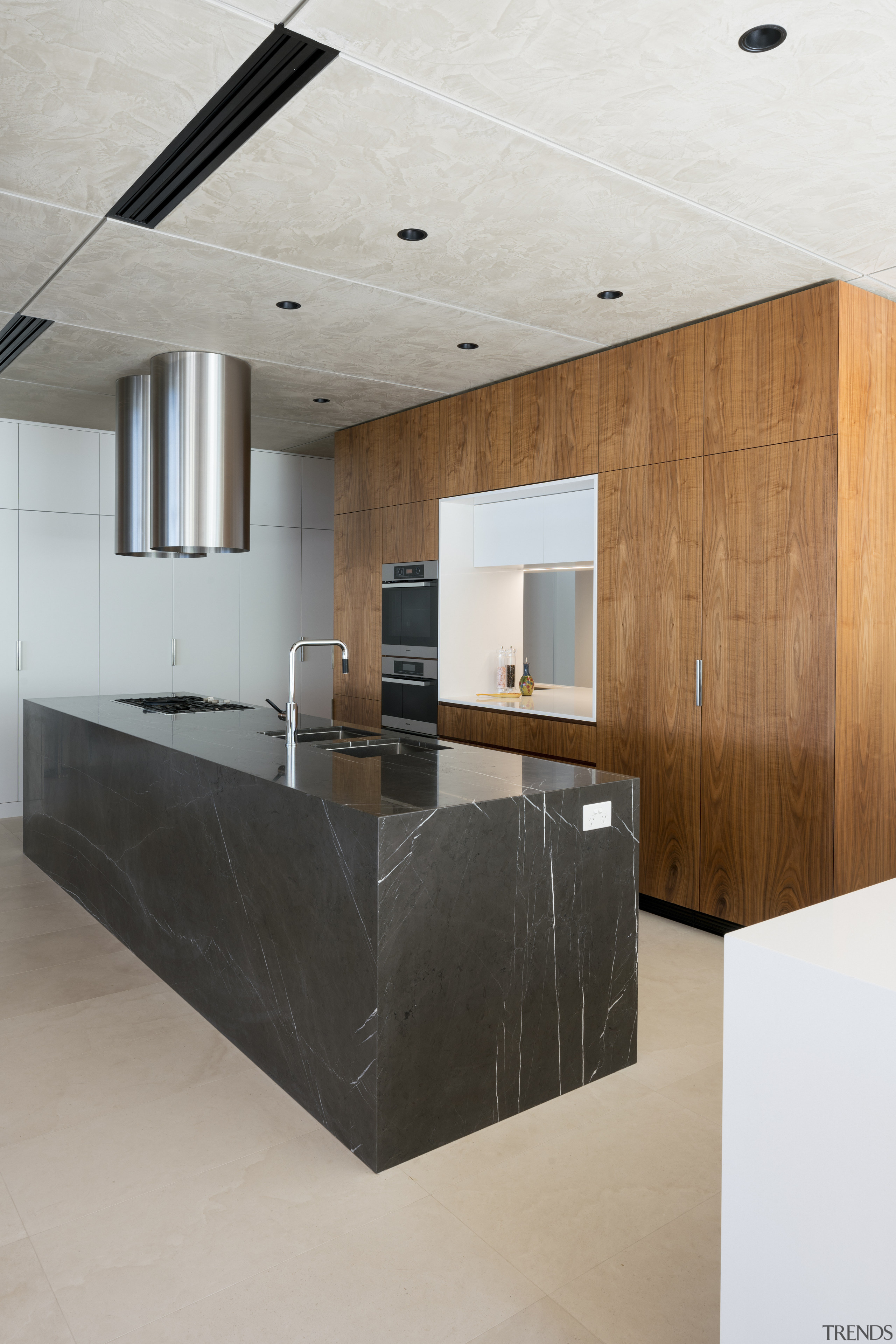 Similar but not the same  this kitchens architecture, ceiling, countertop, floor, house, interior design, kitchen, product design, gray