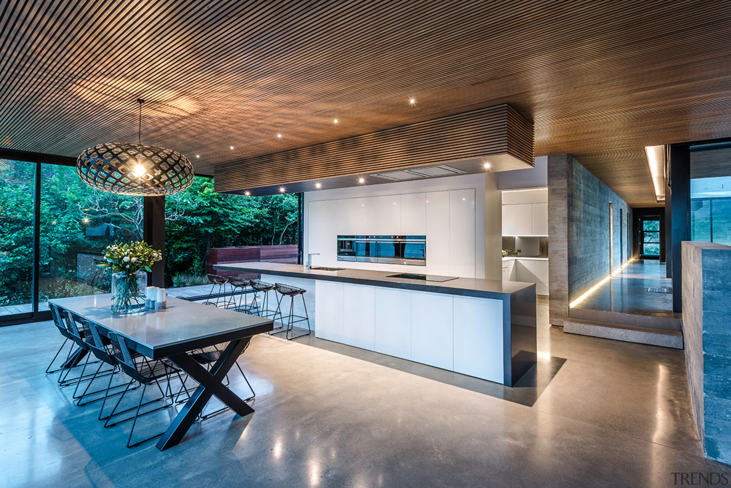 Read the full story architecture, building, ceiling, countertop, design, estate, floor, flooring, furniture, home, house, interior design, kitchen, lighting, property, real estate, room, table, tile, gray