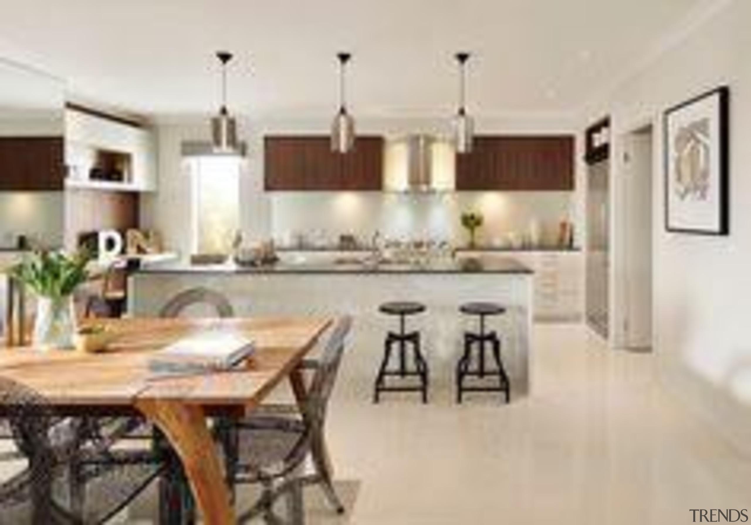 Carlisle Homes Raven - Raven™ - dining room dining room, floor, flooring, interior design, kitchen, property, real estate, table, gray