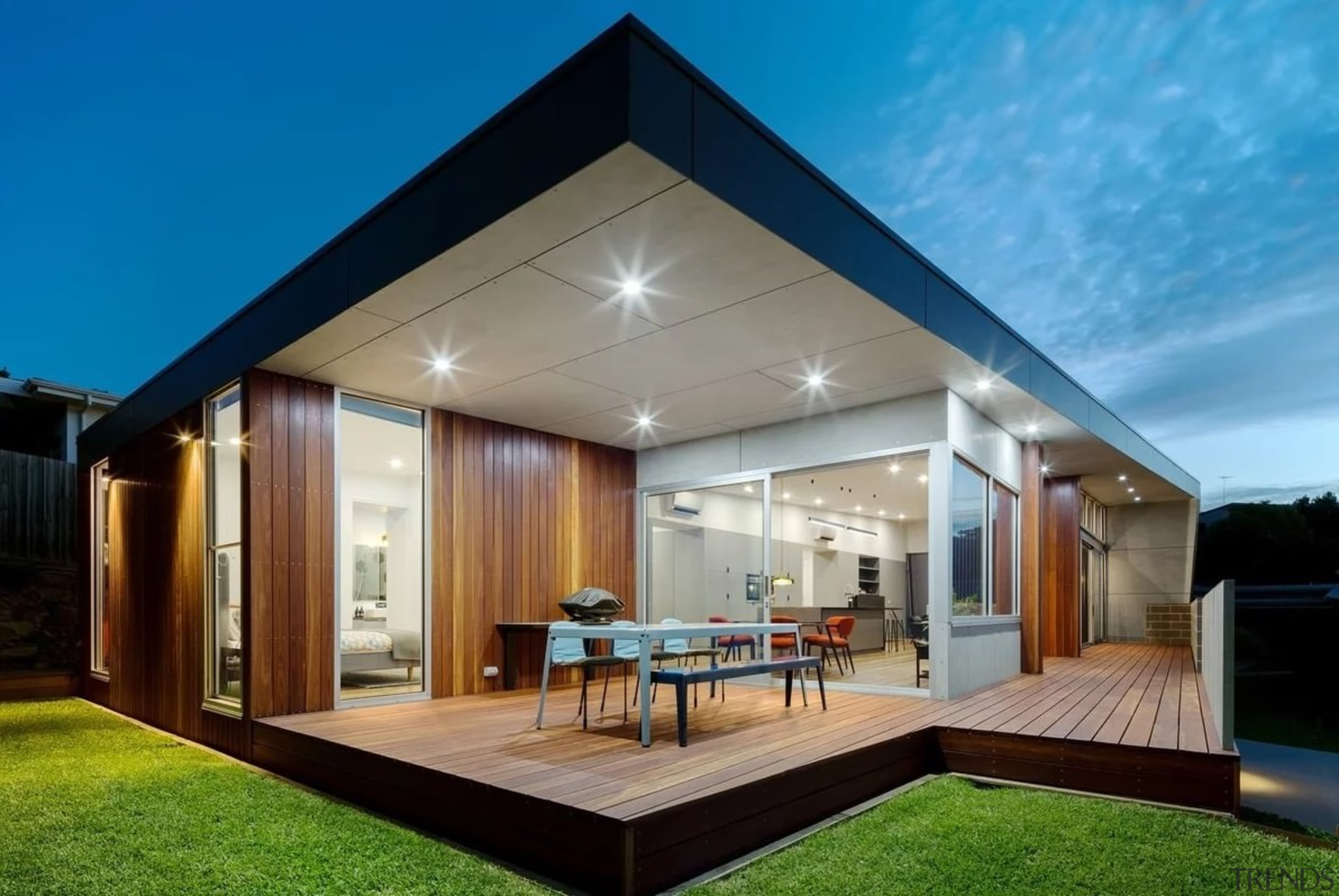 See the home here architecture, backyard, daylighting, estate, facade, home, house, interior design, property, real estate, residential area, roof, window
