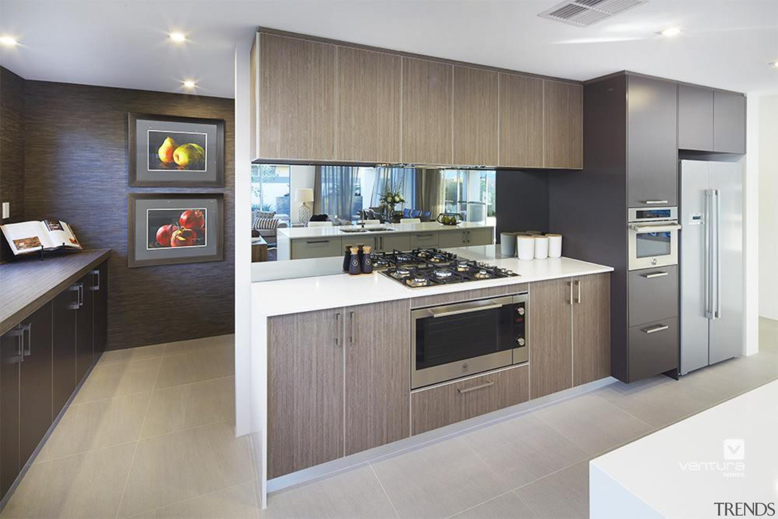 Kitchen design. - The Lexington Two Storey Display cabinetry, countertop, cuisine classique, interior design, kitchen, real estate, room, gray