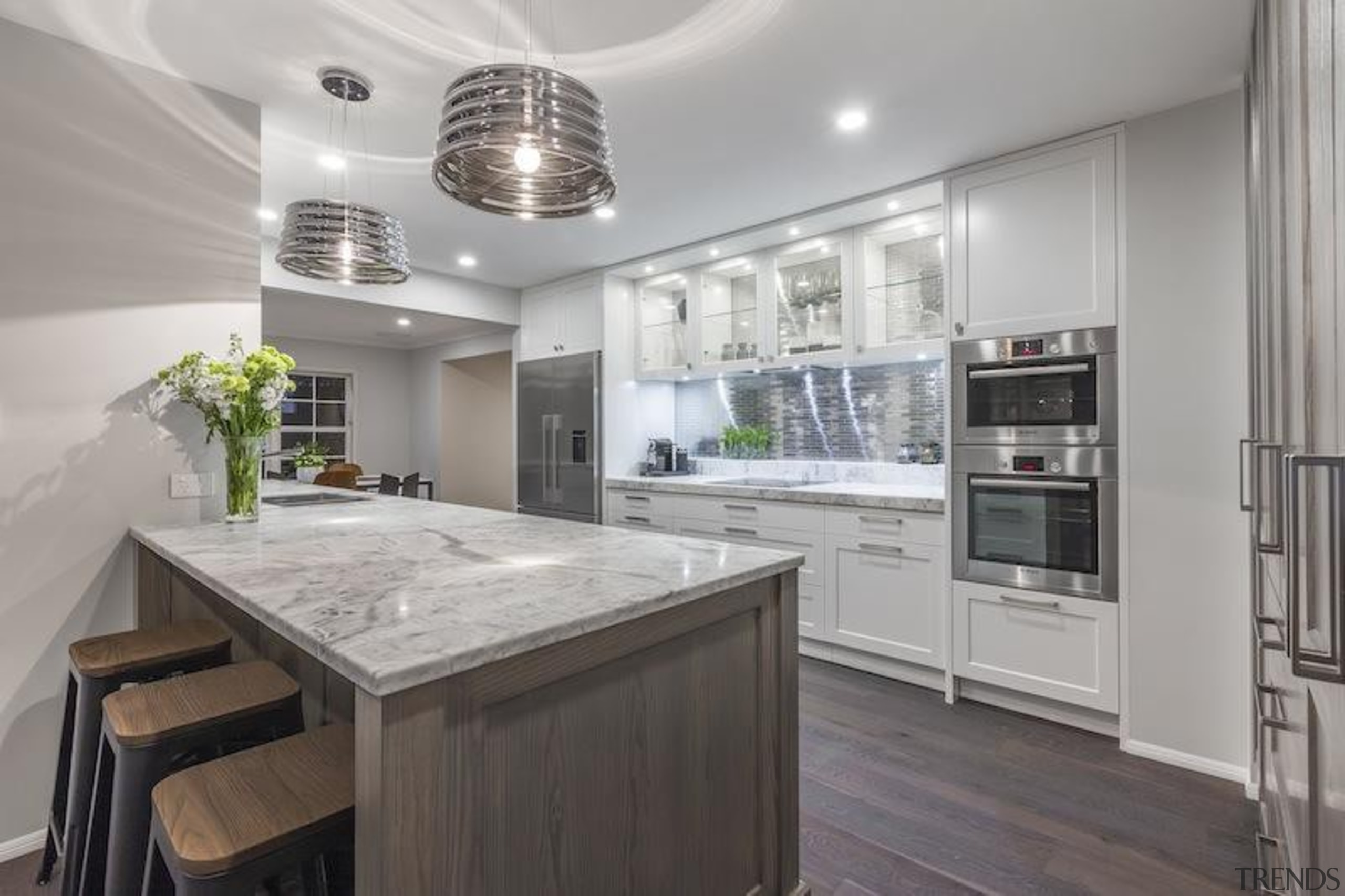 Proudly brought to you by Kitchen Things - cabinetry, countertop, cuisine classique, home appliance, interior design, kitchen, real estate, gray