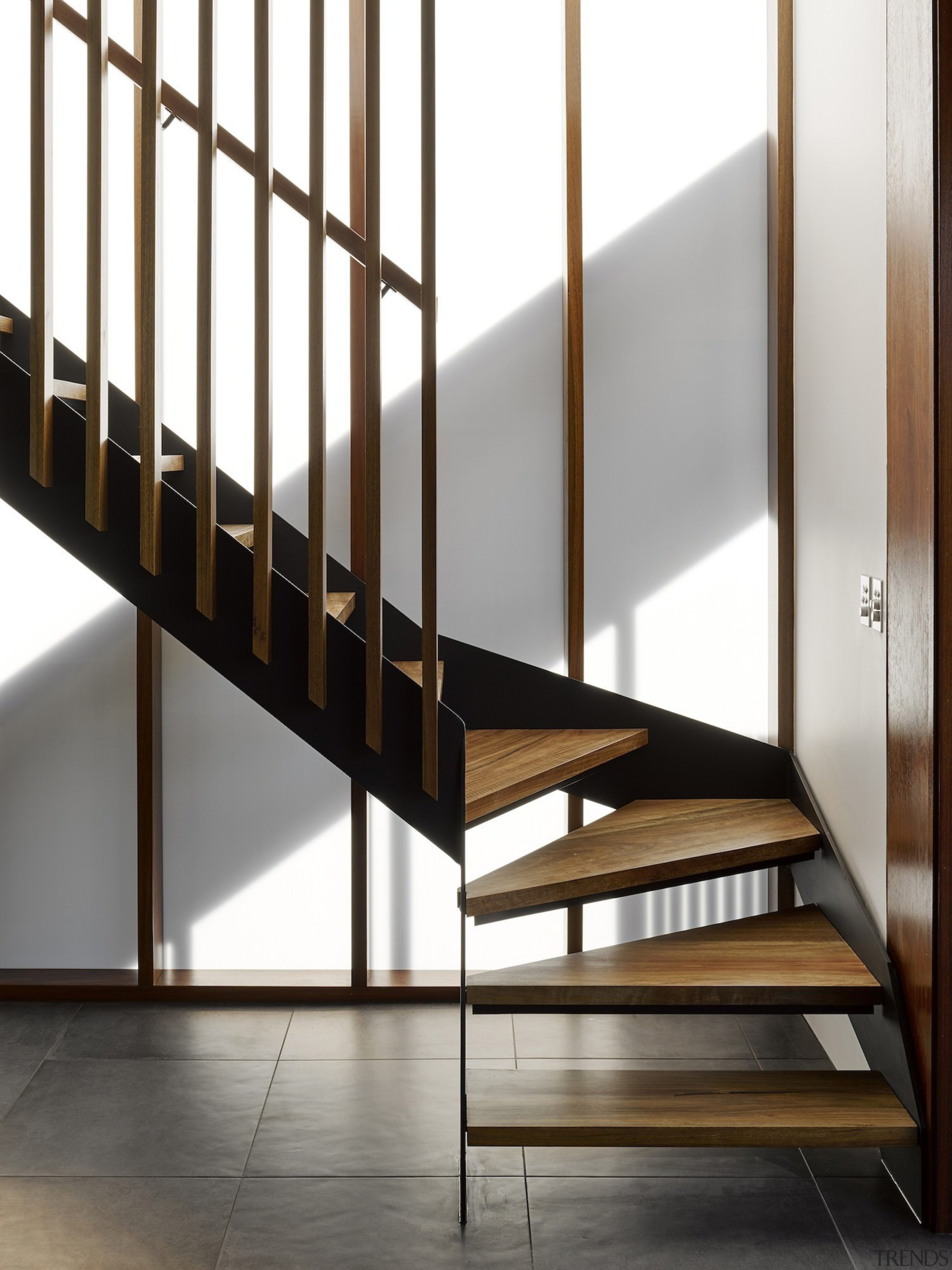 Architect: Refresh DesignPhotography by Roger D'Souza architecture, furniture, handrail, product design, stairs, structure, white