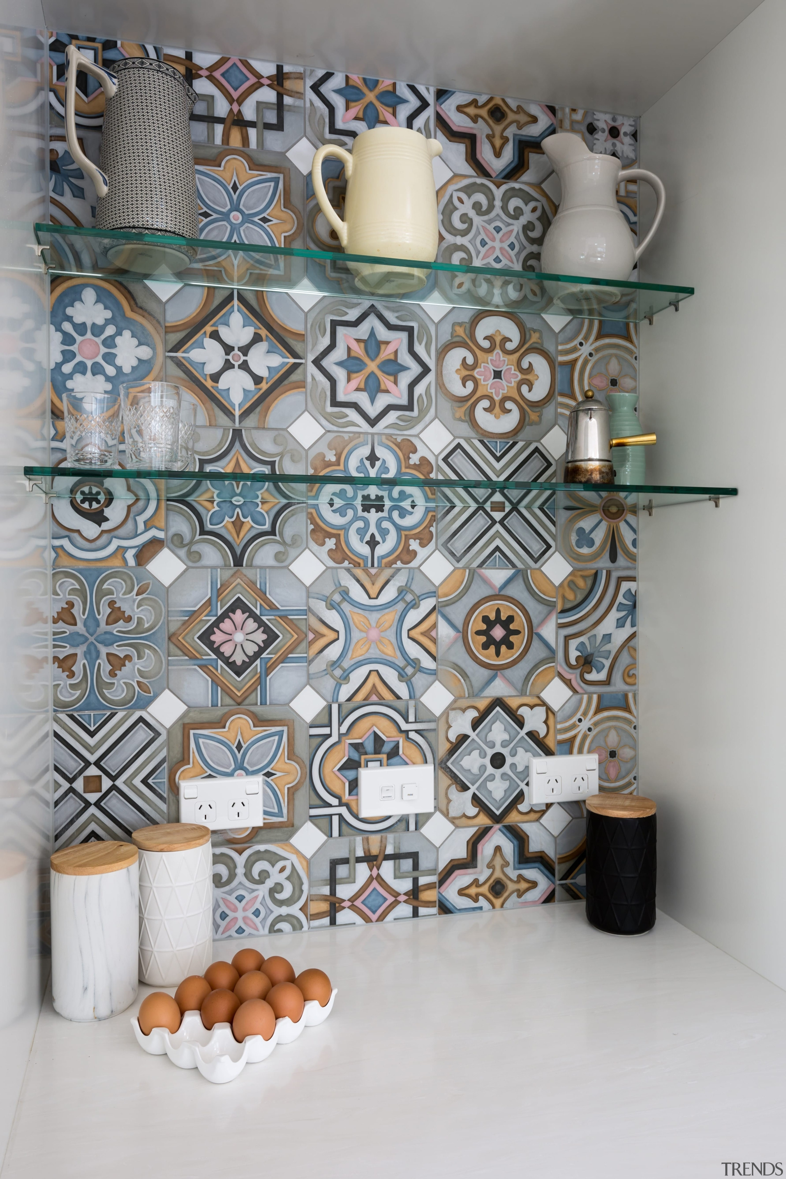 Kitchen Tile - Kitchen Tile - interior design interior design, pattern, room, wall, gray