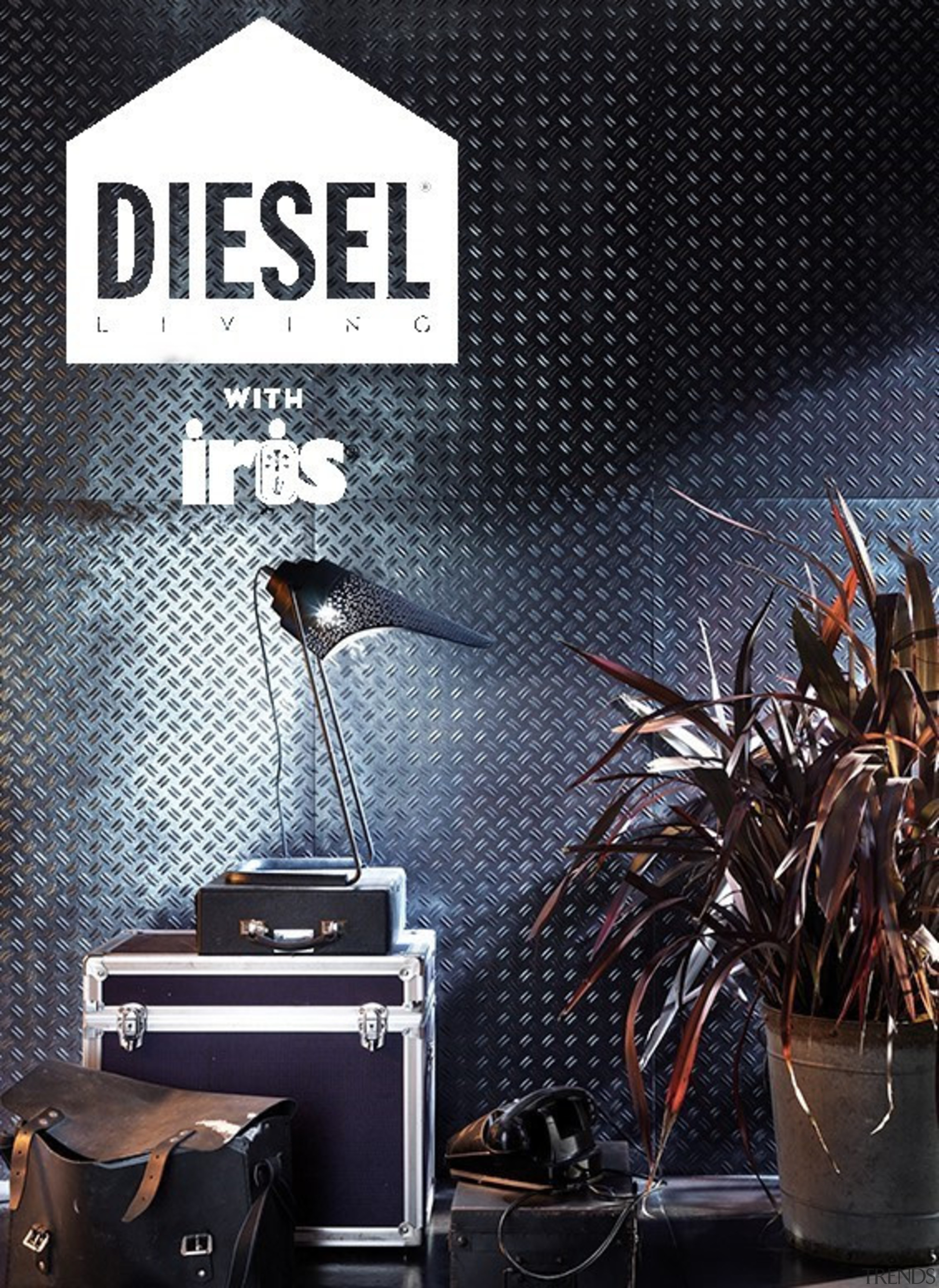 Diesel is no stranger to interior design partnerships, black