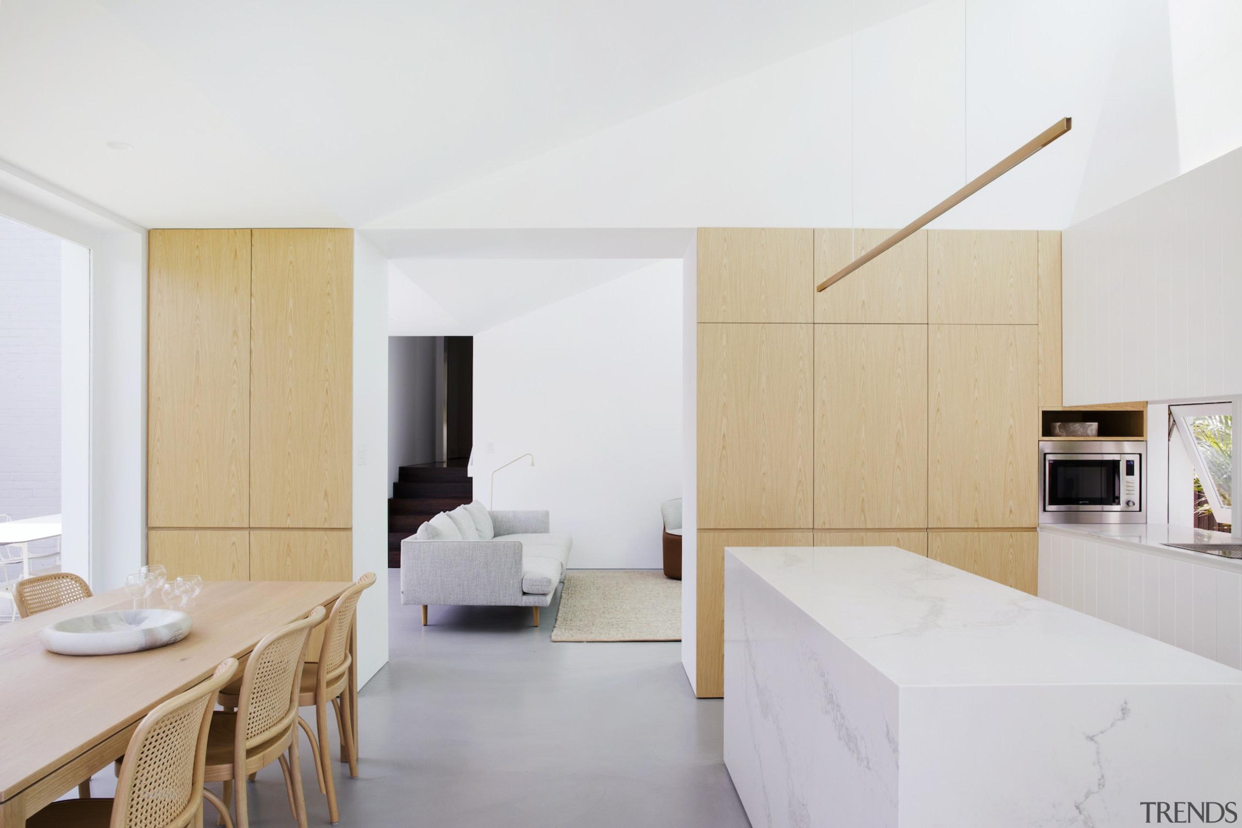 Architect Prineas architecture, floor, house, interior design, property, real estate, suite, white, gray