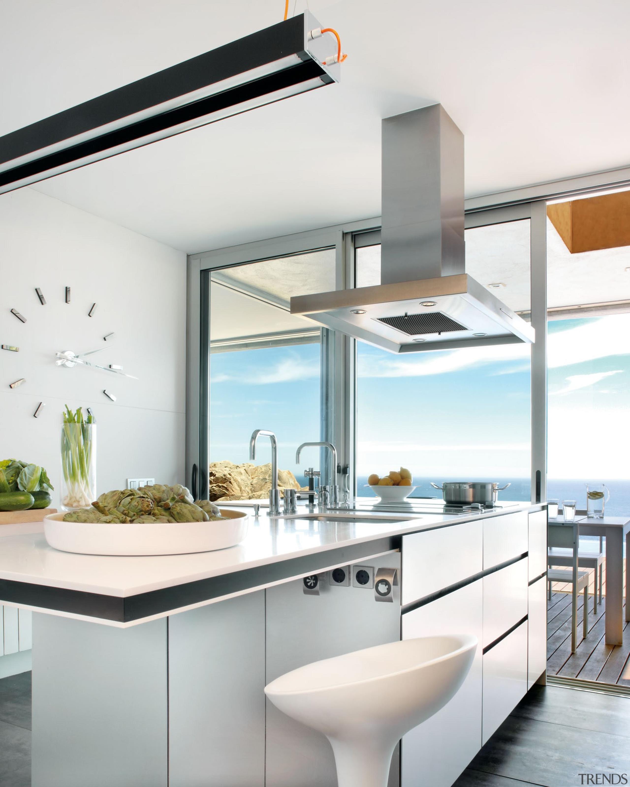 Blanco Zeus Encimera 1 - Blanco Zeus Encimera countertop, cuisine classique, interior design, kitchen, product design, tap, white