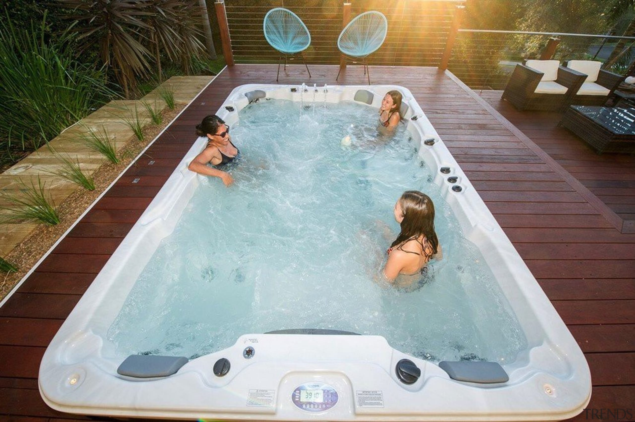 Galaxy Swim Spas - Galaxy Swim Spas - bathtub, hot tub, jacuzzi, leisure, swimming pool, gray