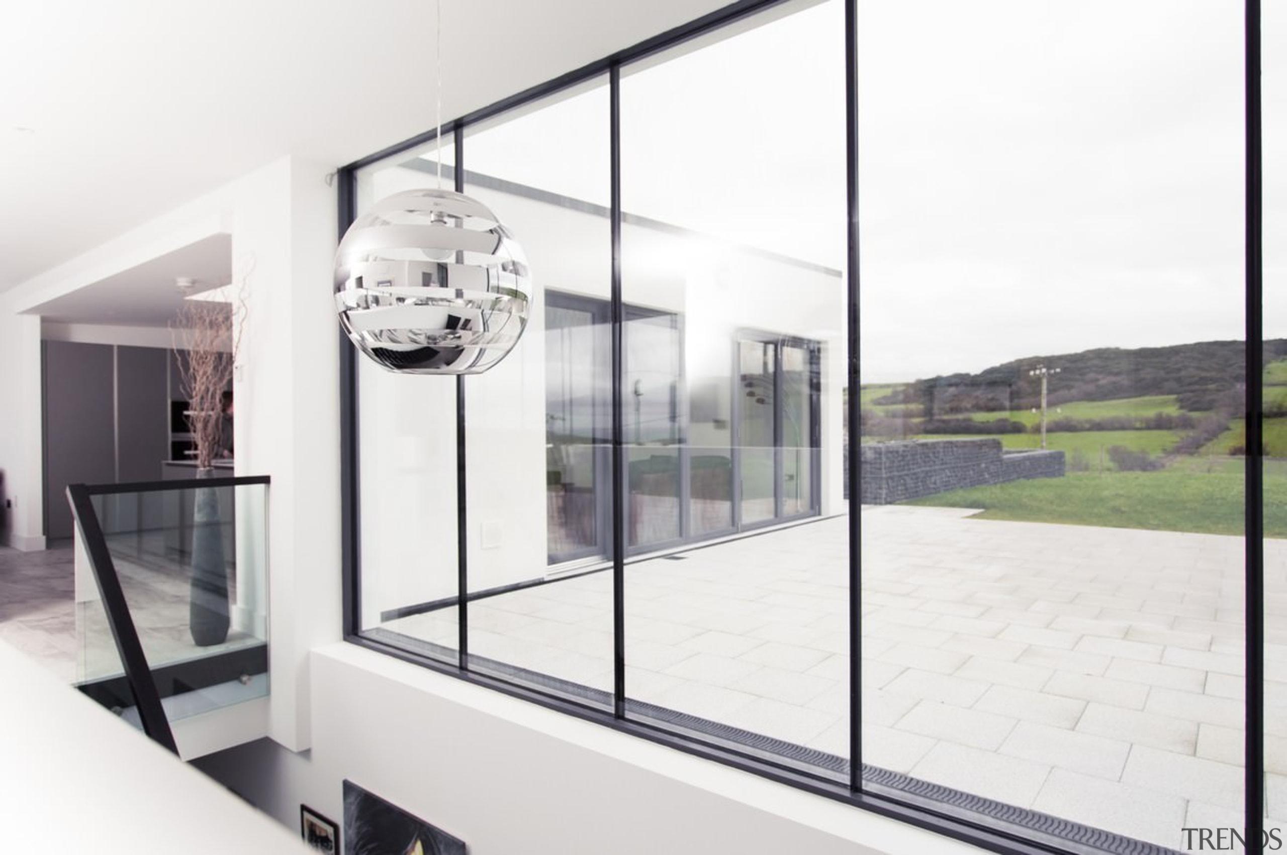 Architect: 2020 ArchitectsPhotography by Reinis Babrovskis architecture, glass, house, interior design, window, white
