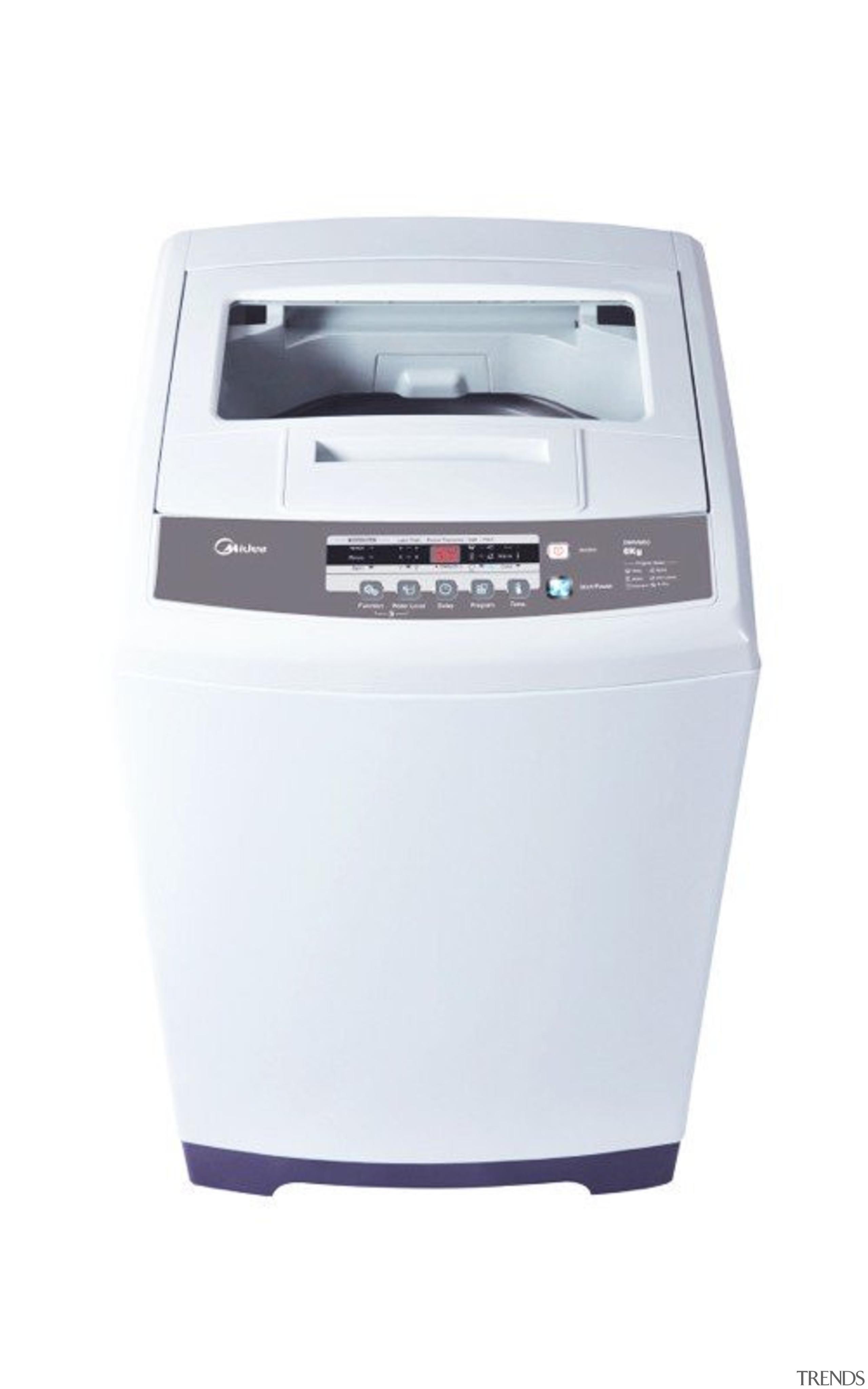6 Kg Top Load Washing MachineCapacity: 6Kg6 Programs, home appliance, laser printing, major appliance, product, washing machine, white