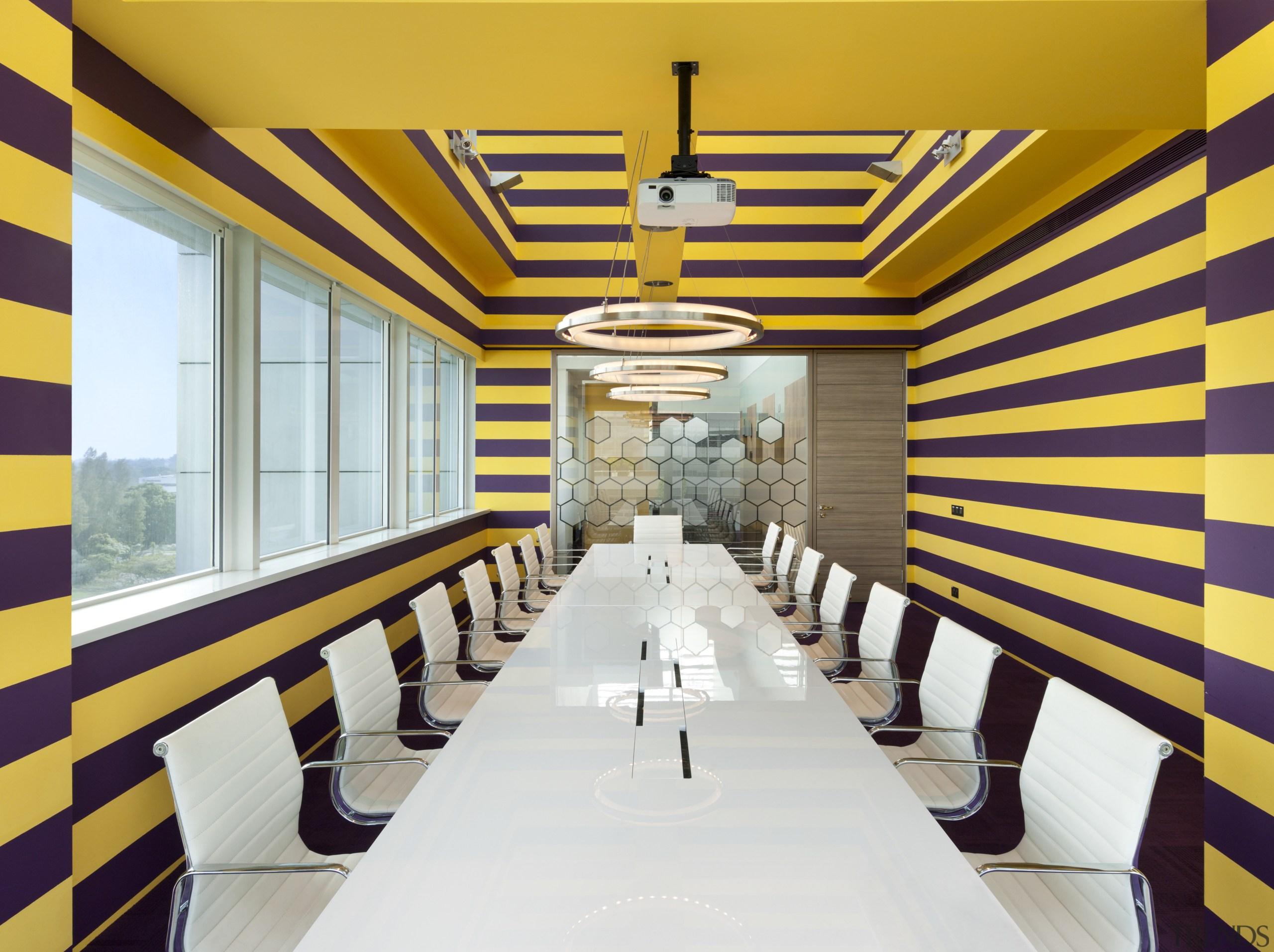 AkzoNobel House (Singapore) Interior design - AkzoNobel House architecture, ceiling, dining room, interior design, restaurant, yellow, white, orange