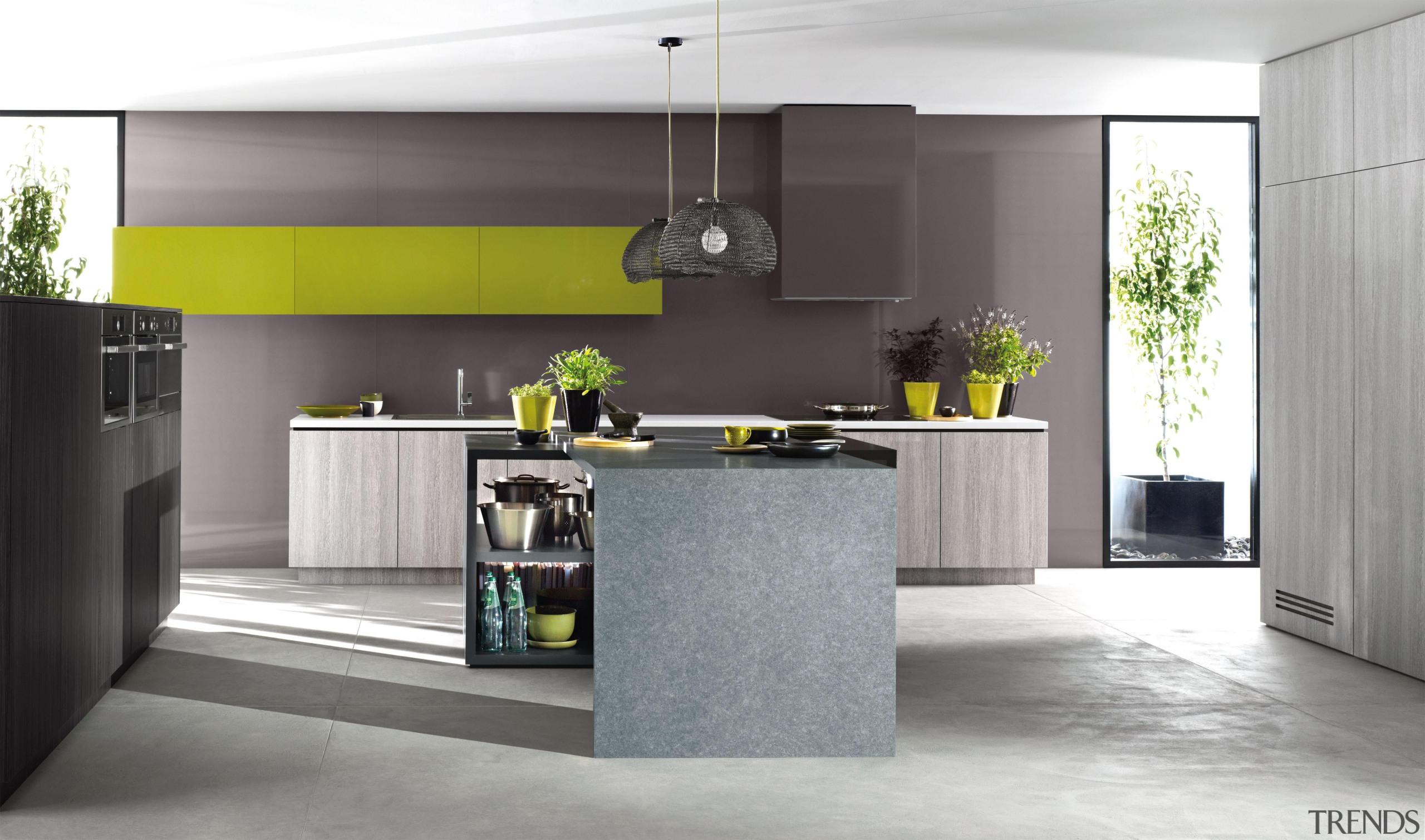 Formica® HPL is a postformable high pressuredecorative laminate. countertop, cuisine classique, floor, home appliance, interior design, kitchen, gray, white