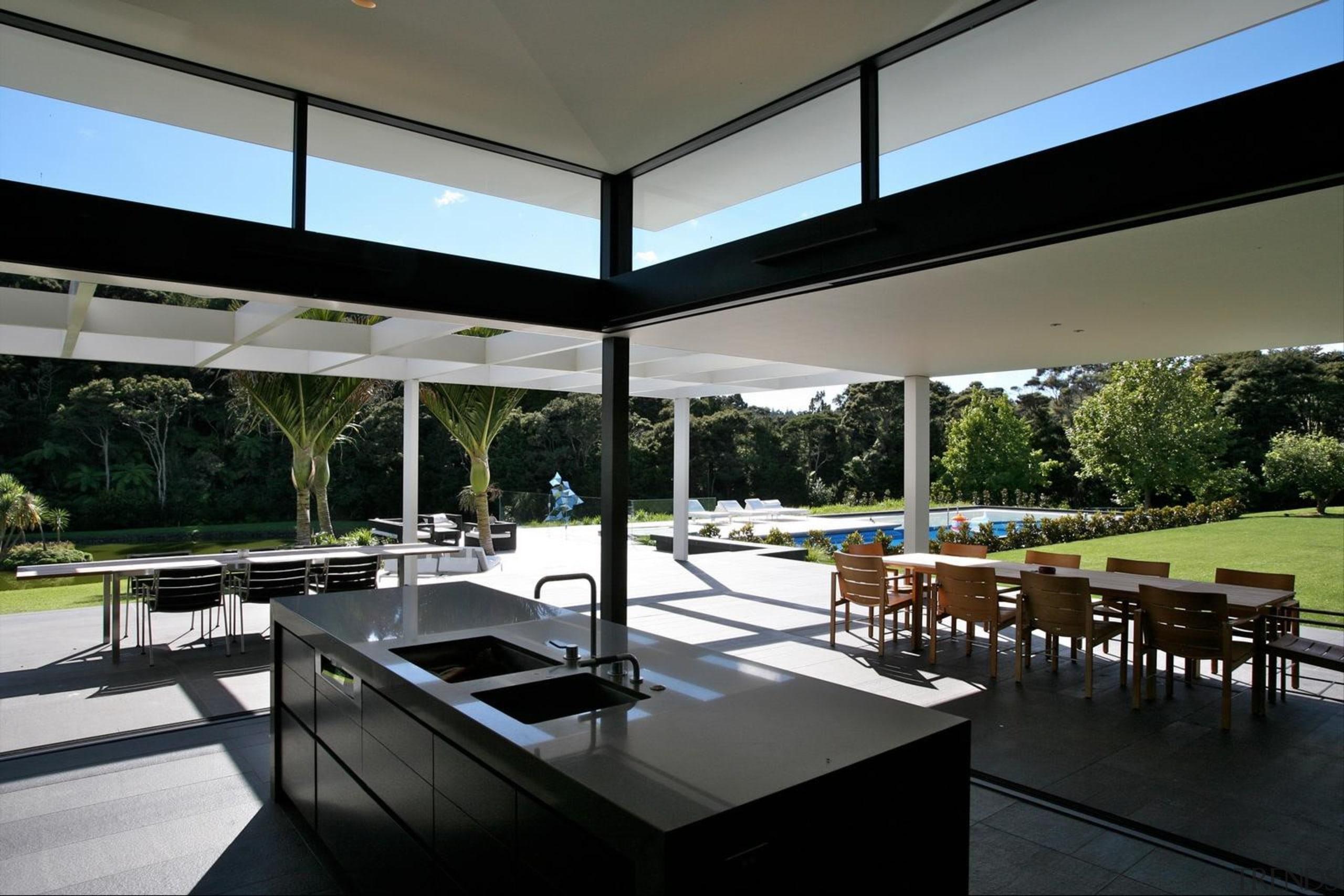 Coatesville House - Coatesville House - architecture   architecture, house, interior design, real estate, window, black, gray