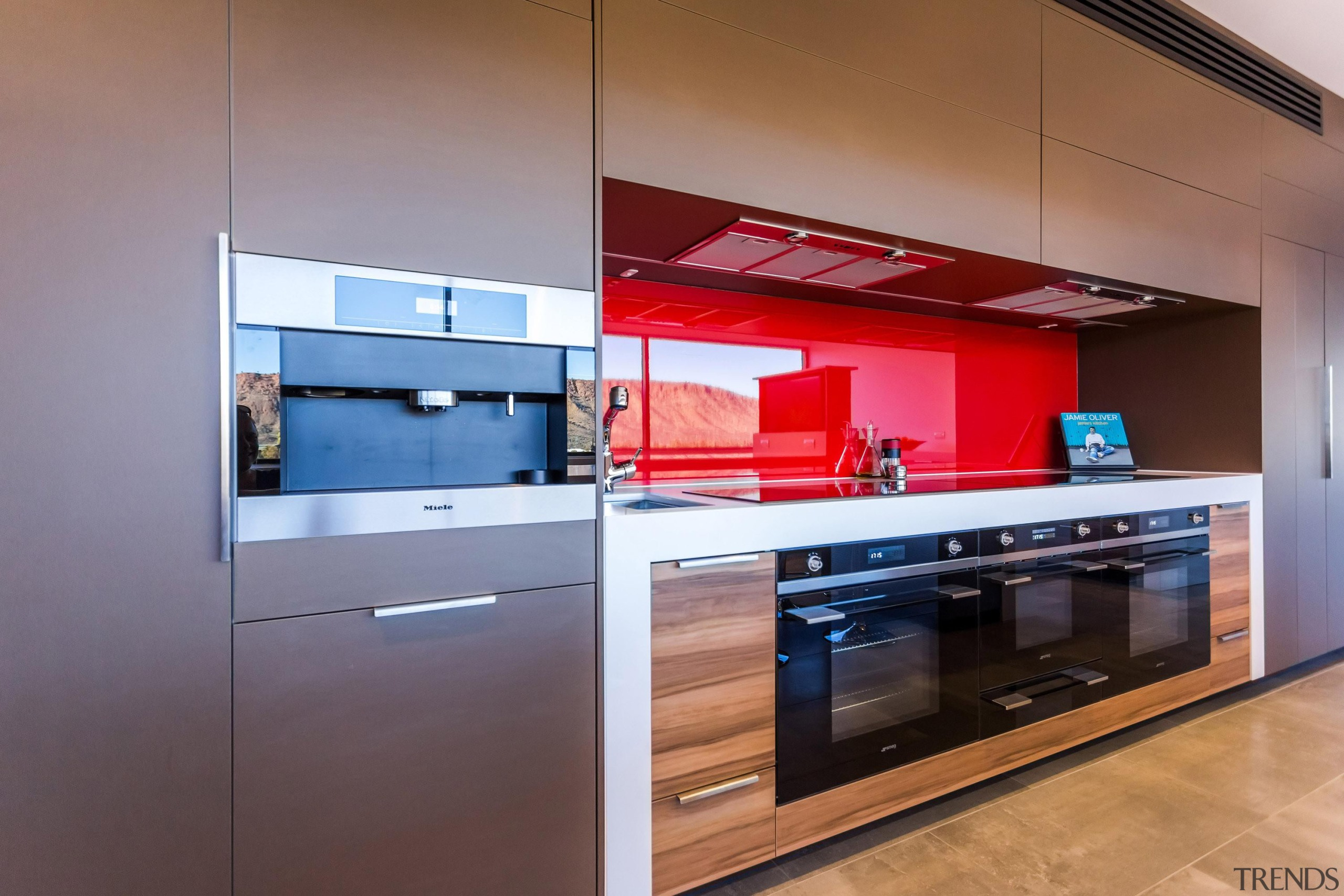 Winner Kitchen of the Year 2013 Northern Territory cabinetry, countertop, home appliance, interior design, kitchen, property, real estate, gray