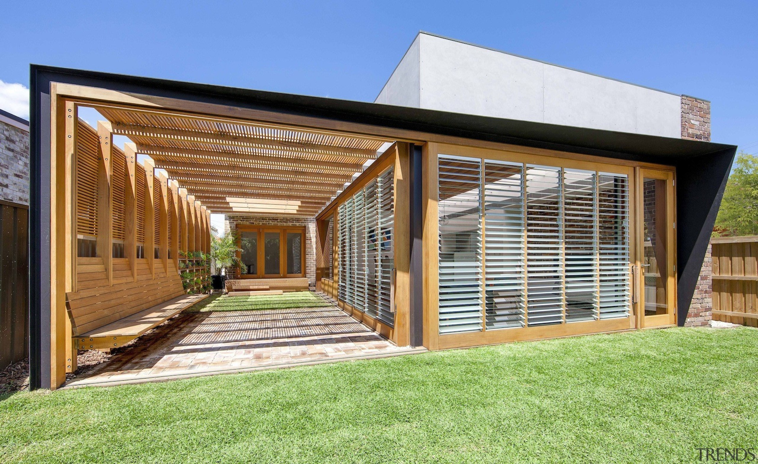 CplusC Architectural Workshop architecture, estate, facade, home, house, property, real estate, residential area, siding, window