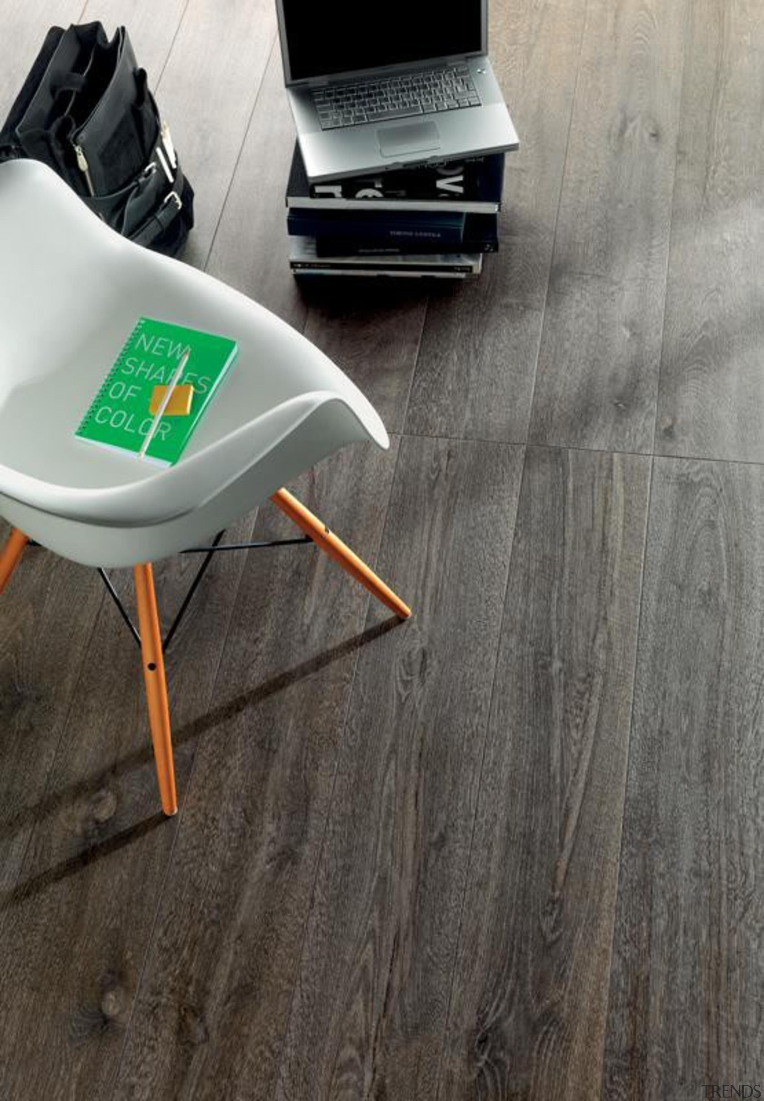 Bioplank fume interior living room floor tiles. - floor, flooring, hardwood, laminate flooring, product design, tile, wood, wood flooring, wood stain, gray, black