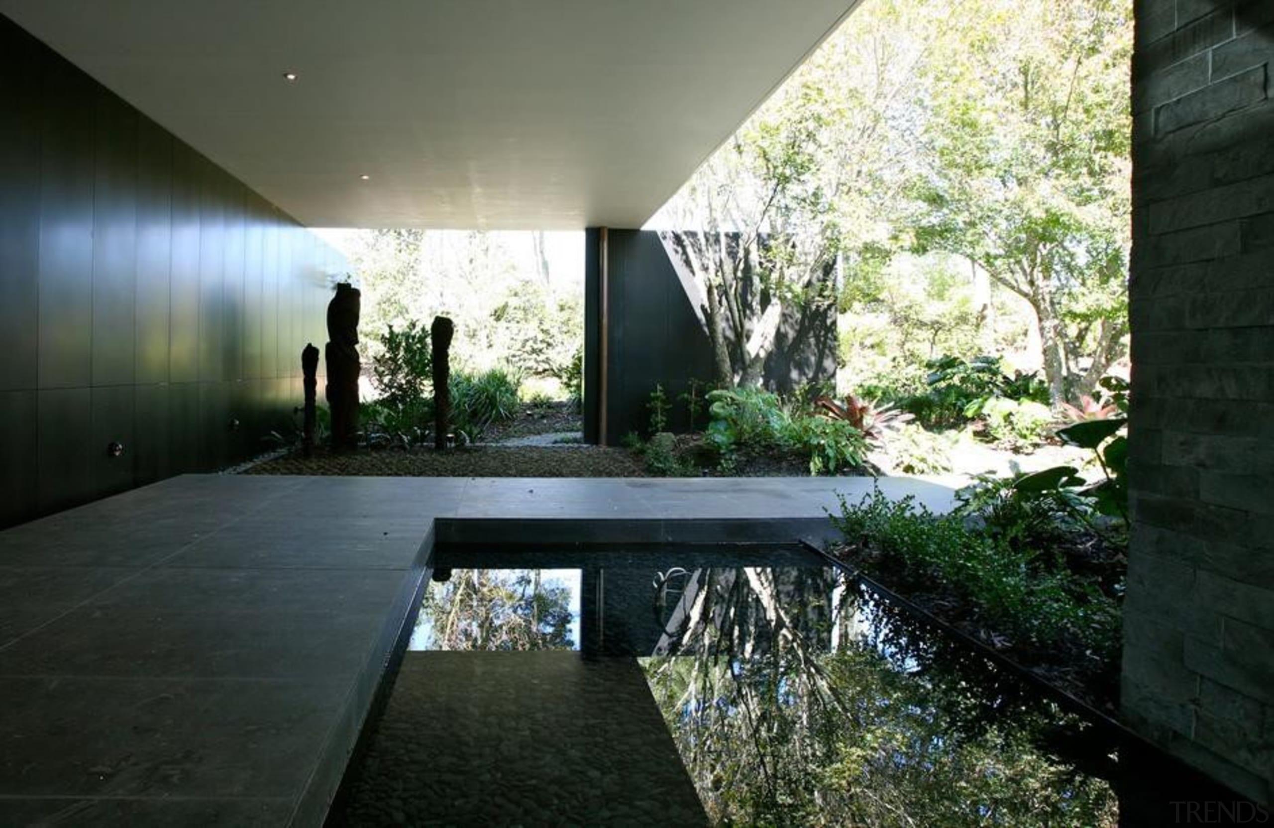 Coatesville House - Coatesville House - architecture | architecture, courtyard, estate, home, house, landscape, property, real estate, sunlight, black