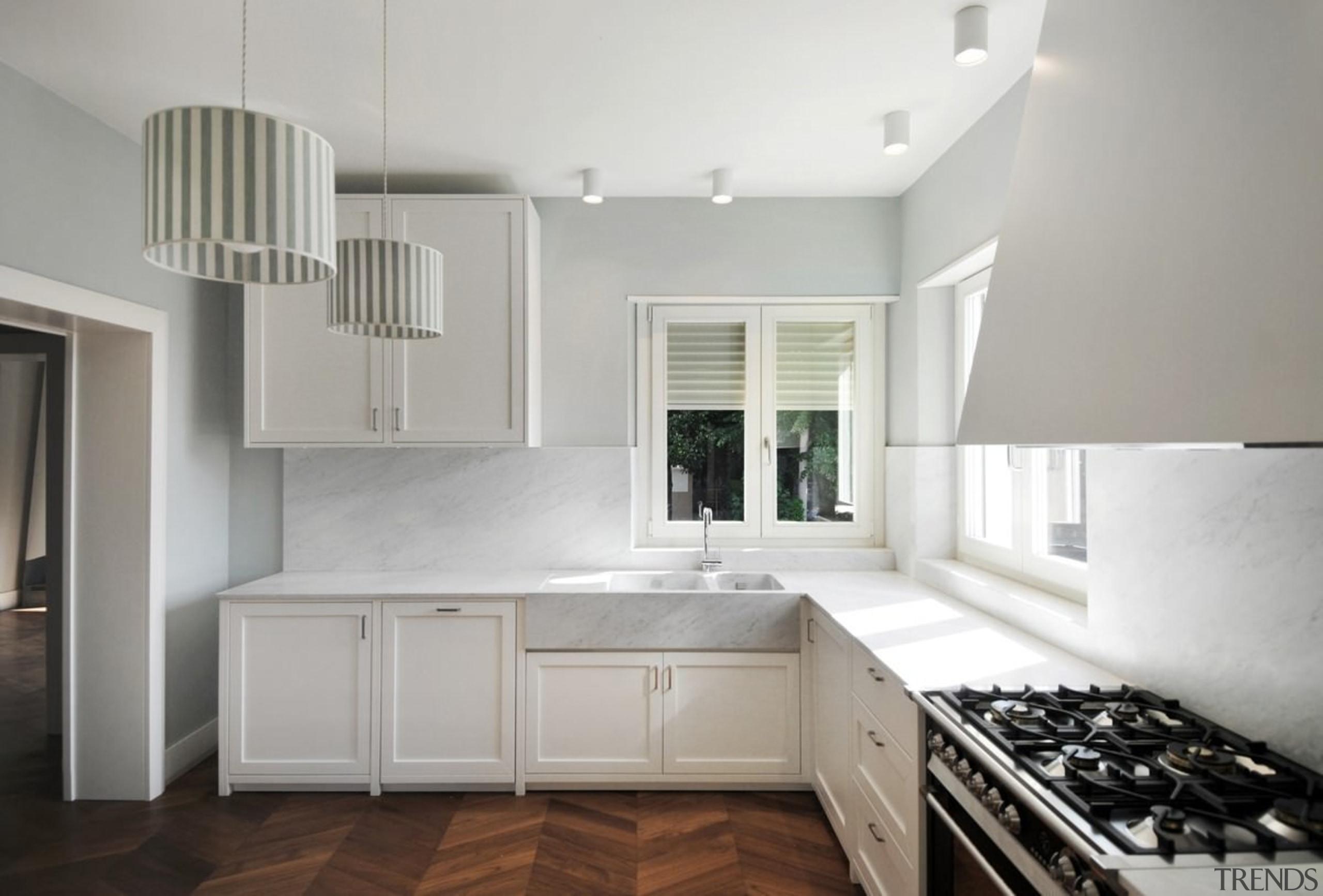 Architect: Tisselli Studio ArchitettiPhotography by Filippo Tisselli cabinetry, countertop, cuisine classique, daylighting, floor, home, interior design, kitchen, property, real estate, room, window, gray