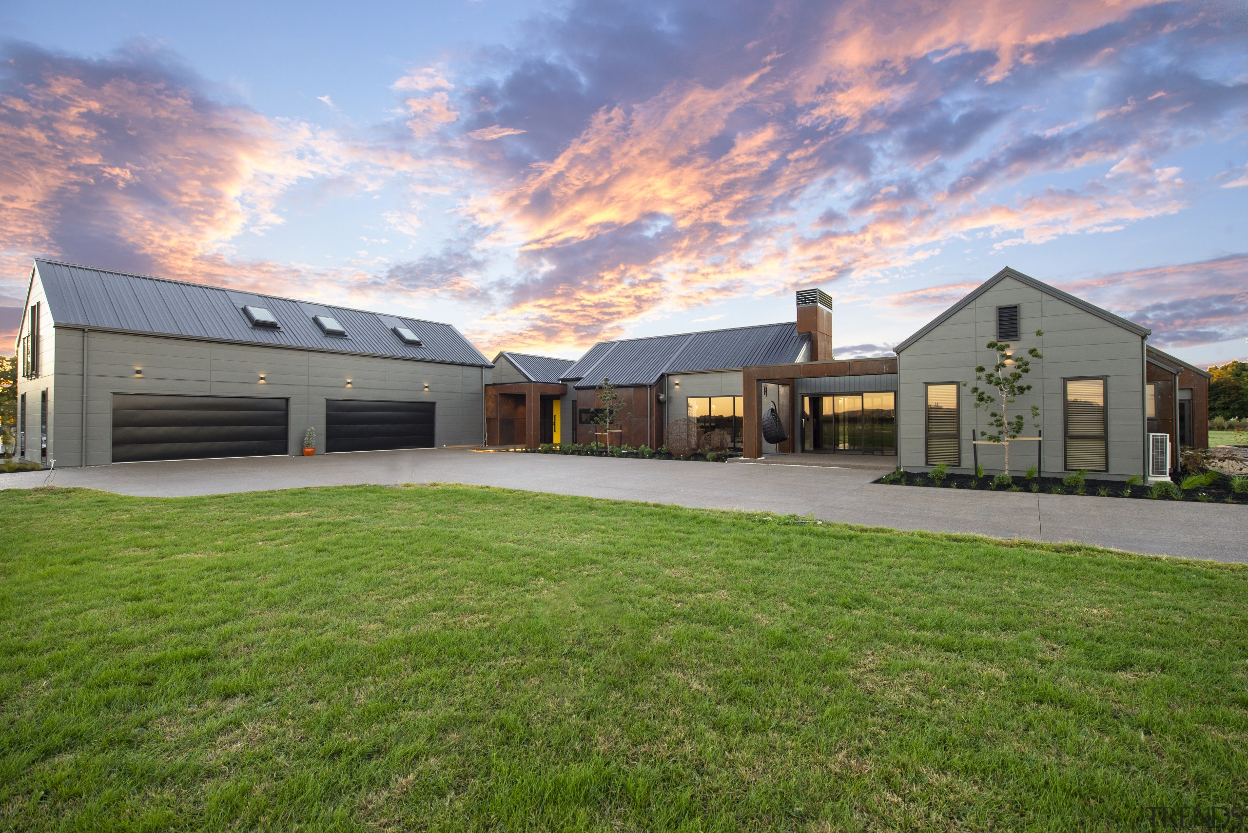 New home custom-designed to owners' unique vision