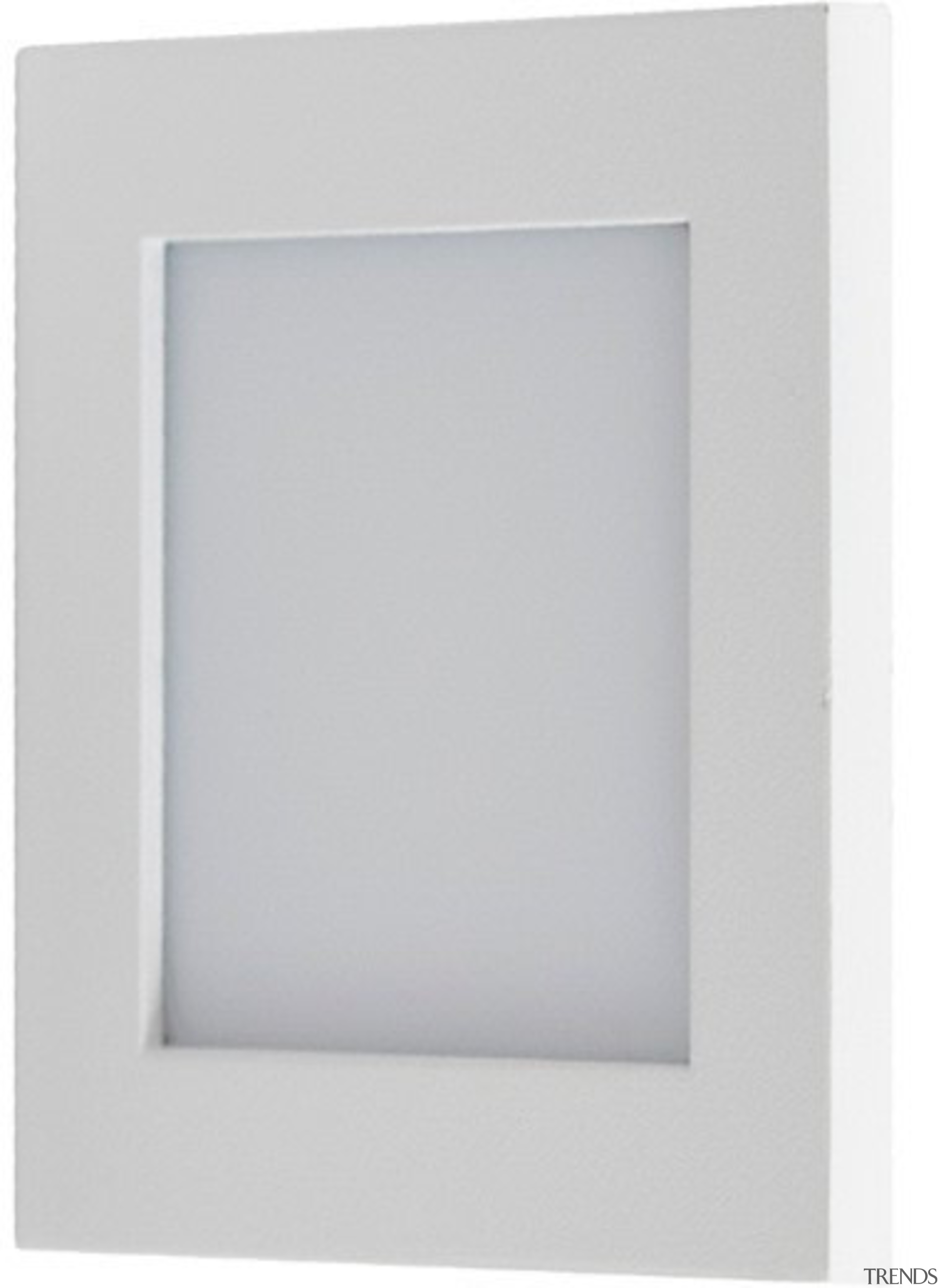 FeaturesThe Dias is a square recessed wall light light, lighting, picture frame, product design, rectangle, white, gray