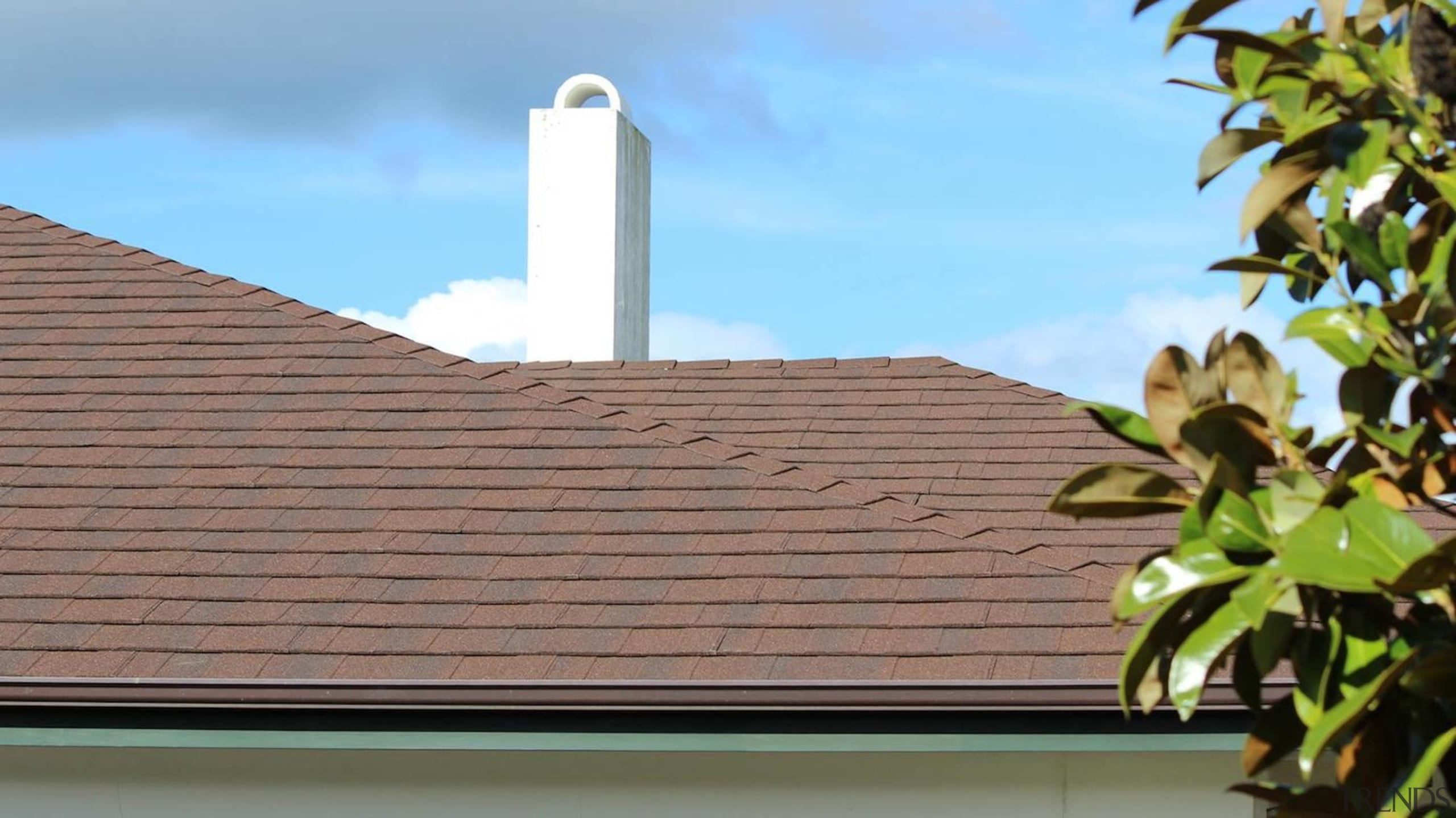 Re-roofing is key to a healthy home - daylighting, facade, outdoor structure, property, roof, sky, wall, brown, teal