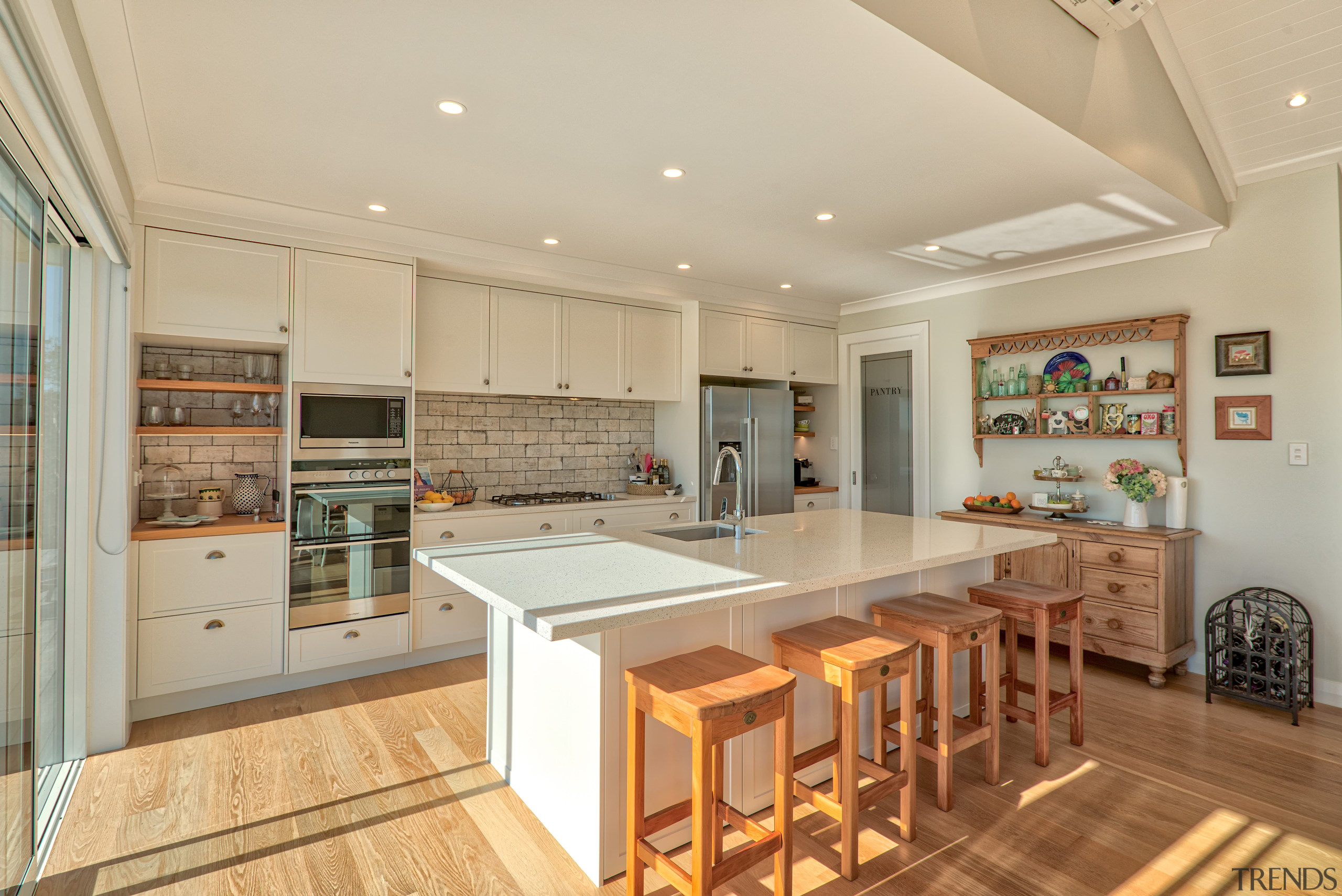 The owner of this Fowler Homes-built residence works cabinetry, countertop, cuisine classique, interior design, kitchen, real estate, room, Fowler homes, home builder