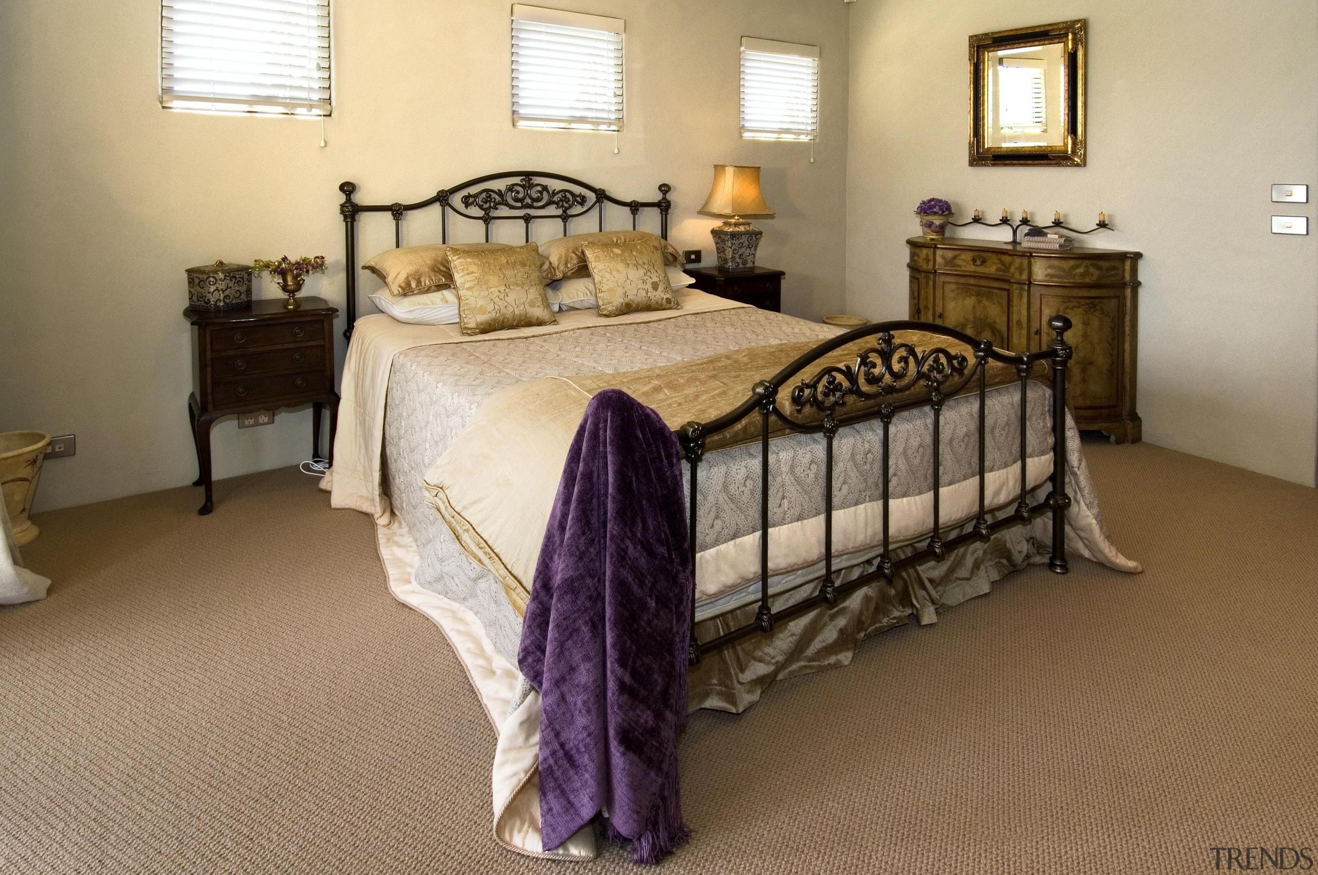 170mangawhai 13 - mangawhai_13 - bed | bed bed, bed frame, bedroom, duvet cover, floor, flooring, furniture, home, room, wood, brown