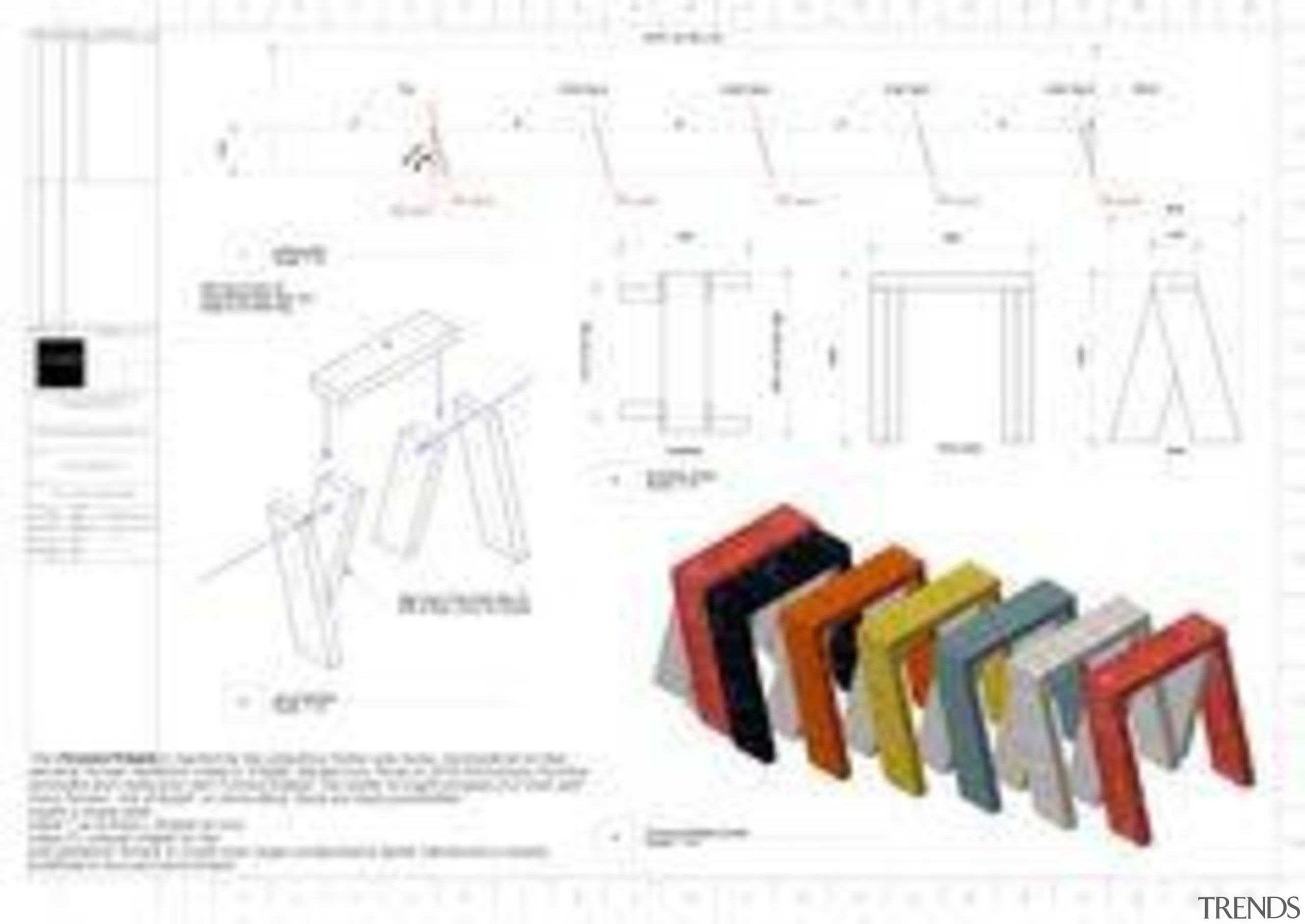 David Formica S'Table - David Formica S'Table - design, diagram, font, furniture, line, product, product design, text, white