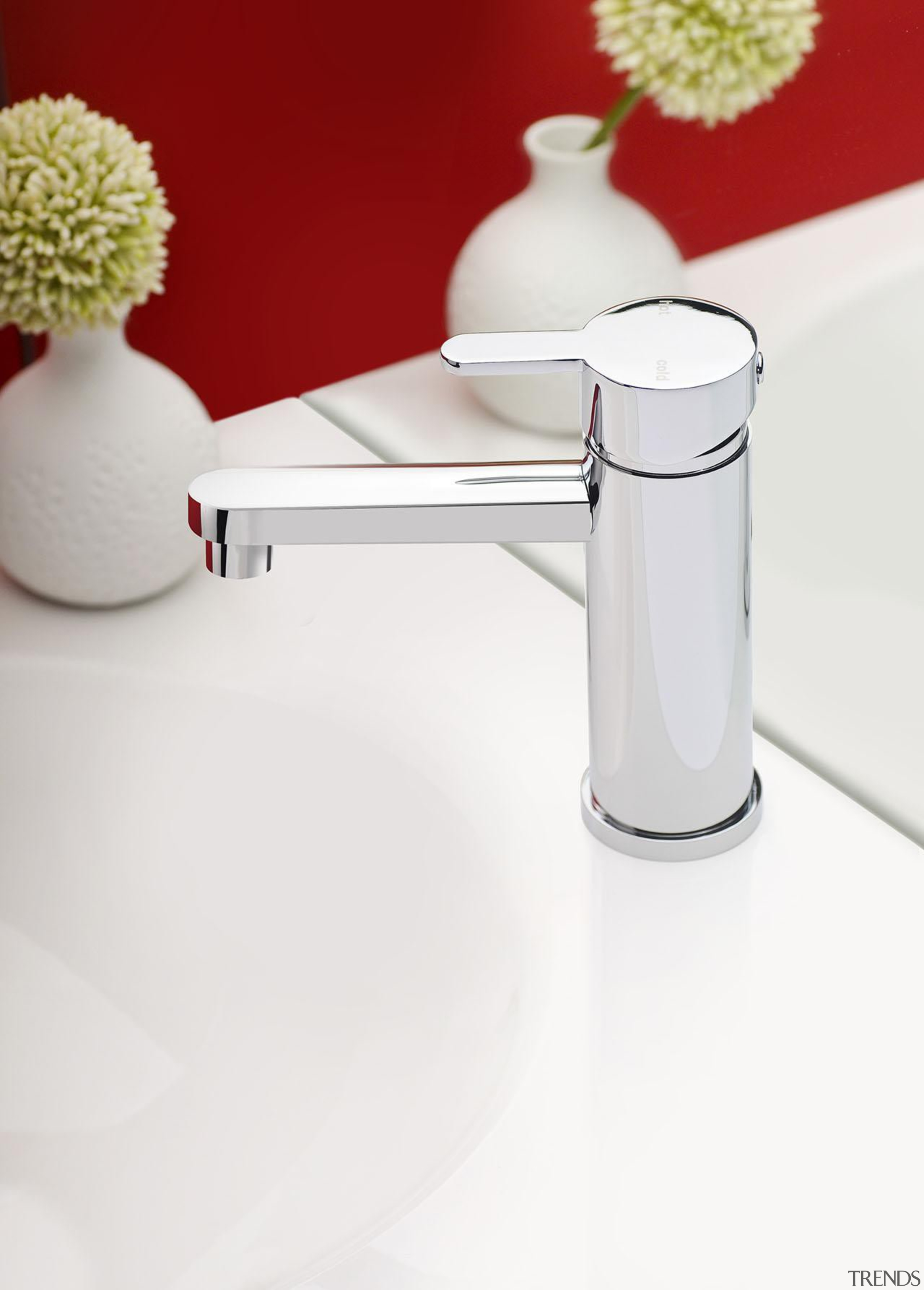 Mia Basin Mixer is a tap that compliments plumbing fixture, product design, table, tap, white