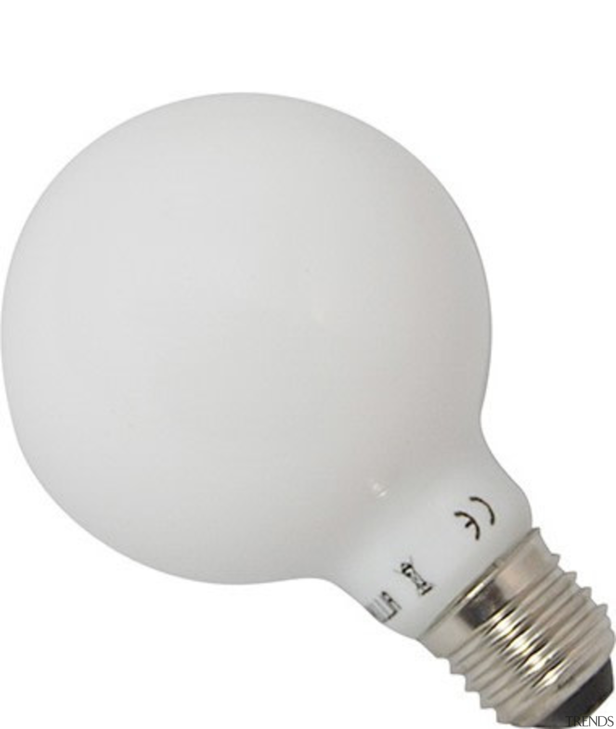 Features8WLuminous Flux: 700lmGlobe Shape (G80)E27Energy Rated A+CRI ˃80Not lighting, product design, white