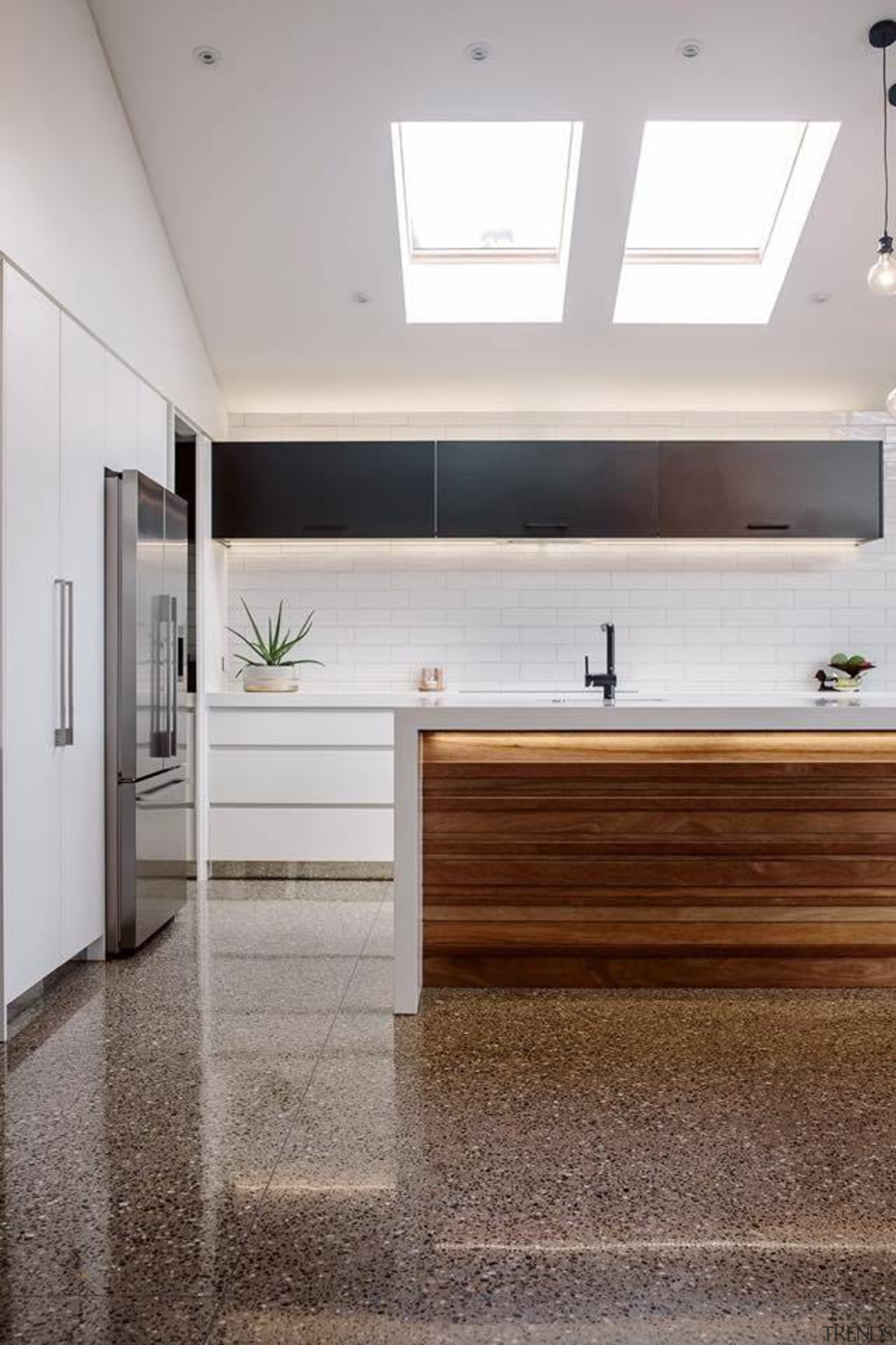Rowson Kitchen & Joinery - Rowson Kitchen & ceiling, daylighting, floor, flooring, home, interior design, laminate flooring, real estate, wood flooring, gray