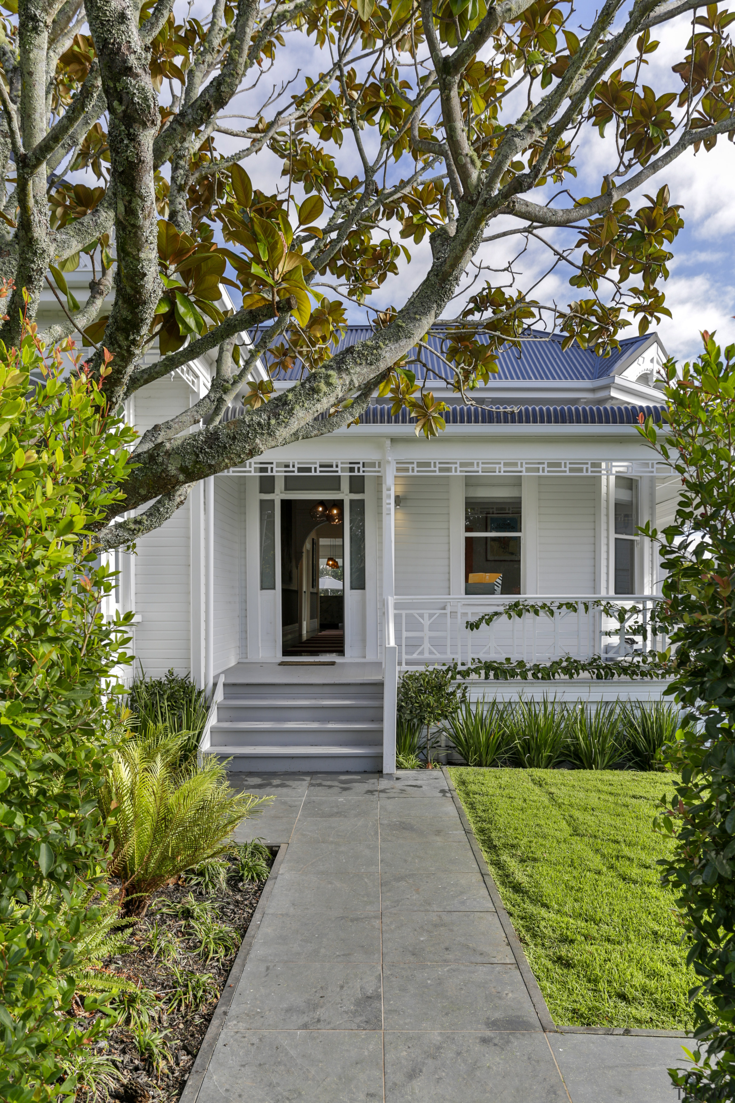 As part of this modernising and restoring renovation architecture, backyard, facade, home, house, residential, siding, villa, Matt Brew