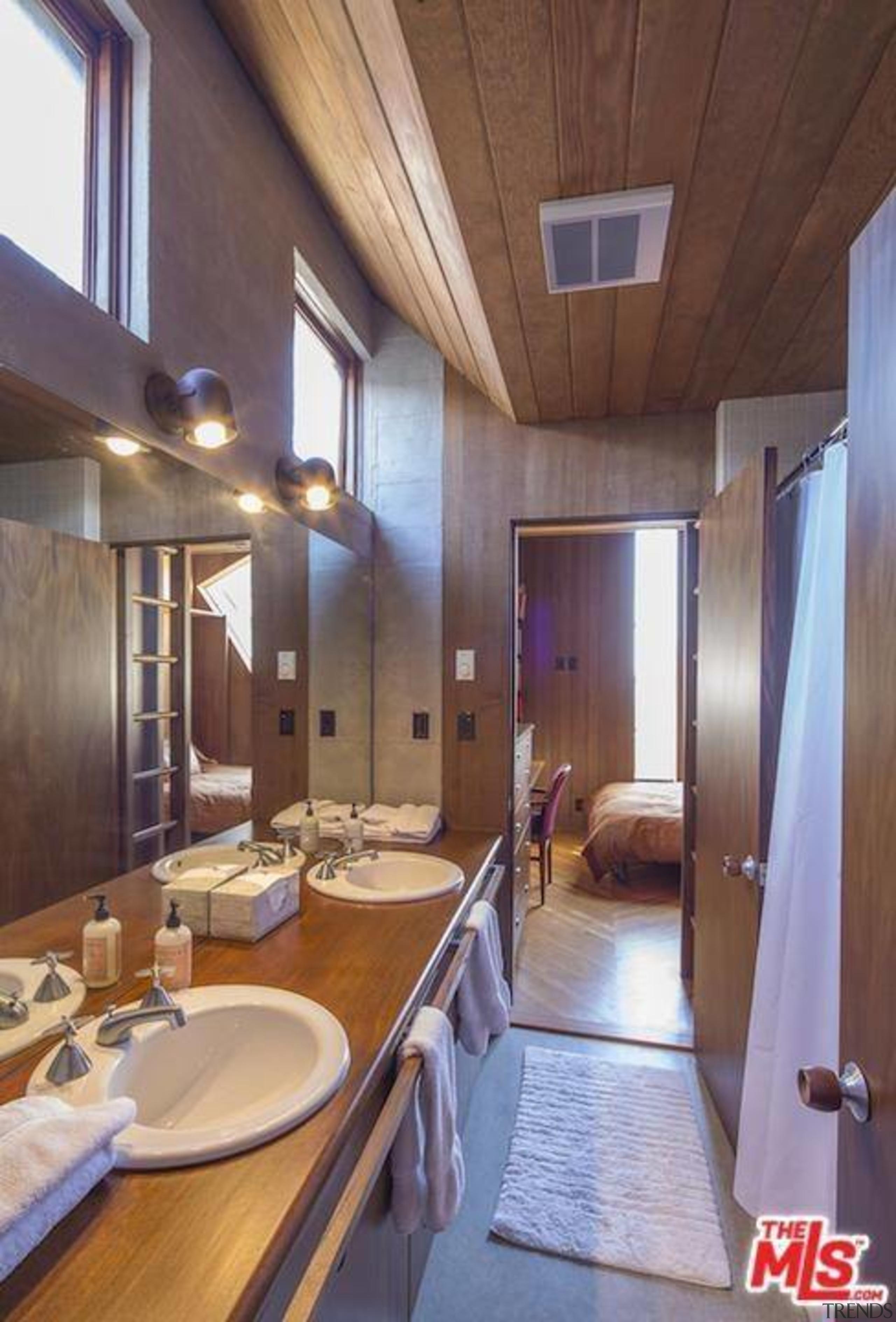 Edward Norton's new Malibu Colony home – Trulia ceiling, countertop, interior design, real estate, room, brown