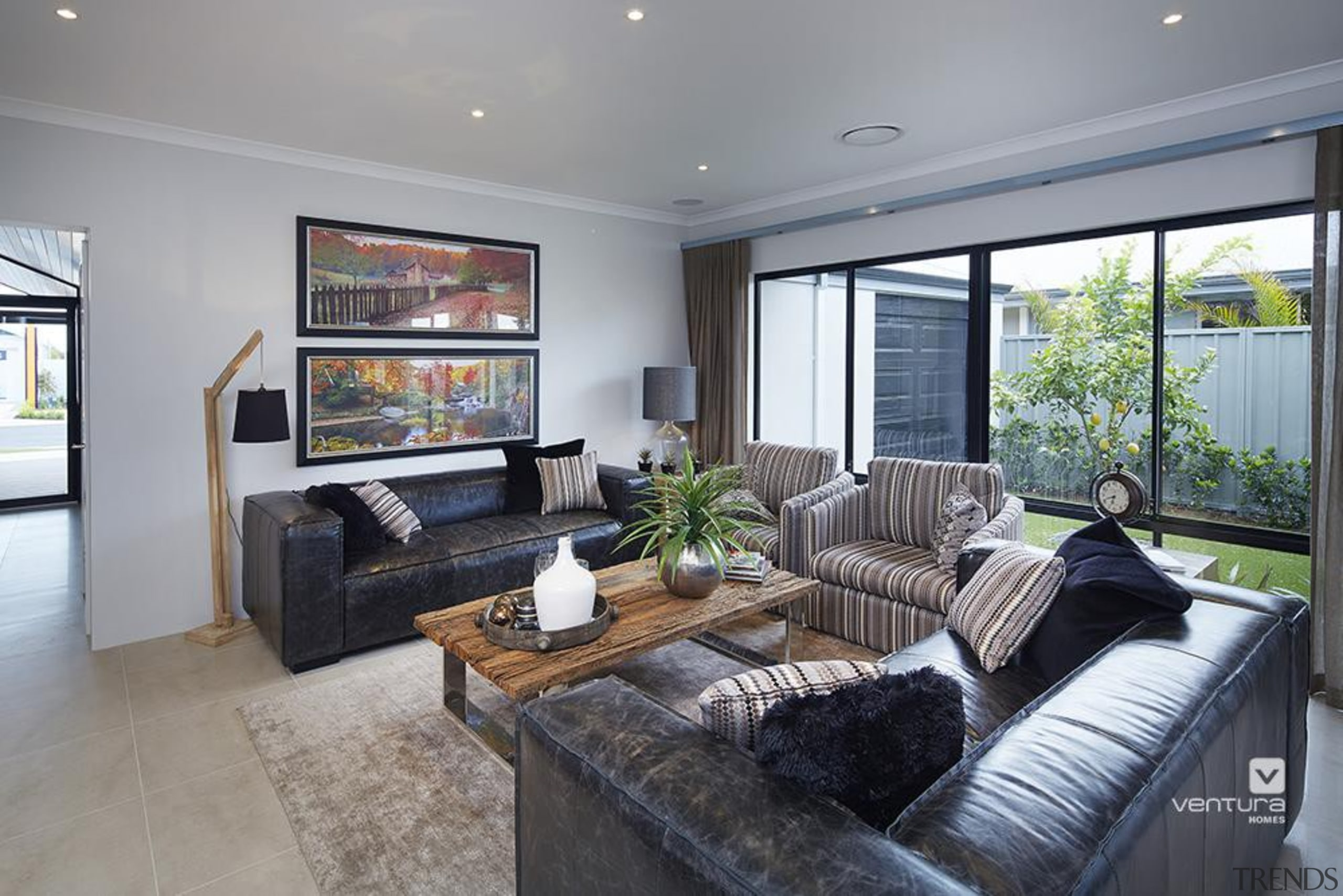 Living Room Design. - The Macquarie Display Home home, interior design, living room, property, real estate, room, gray
